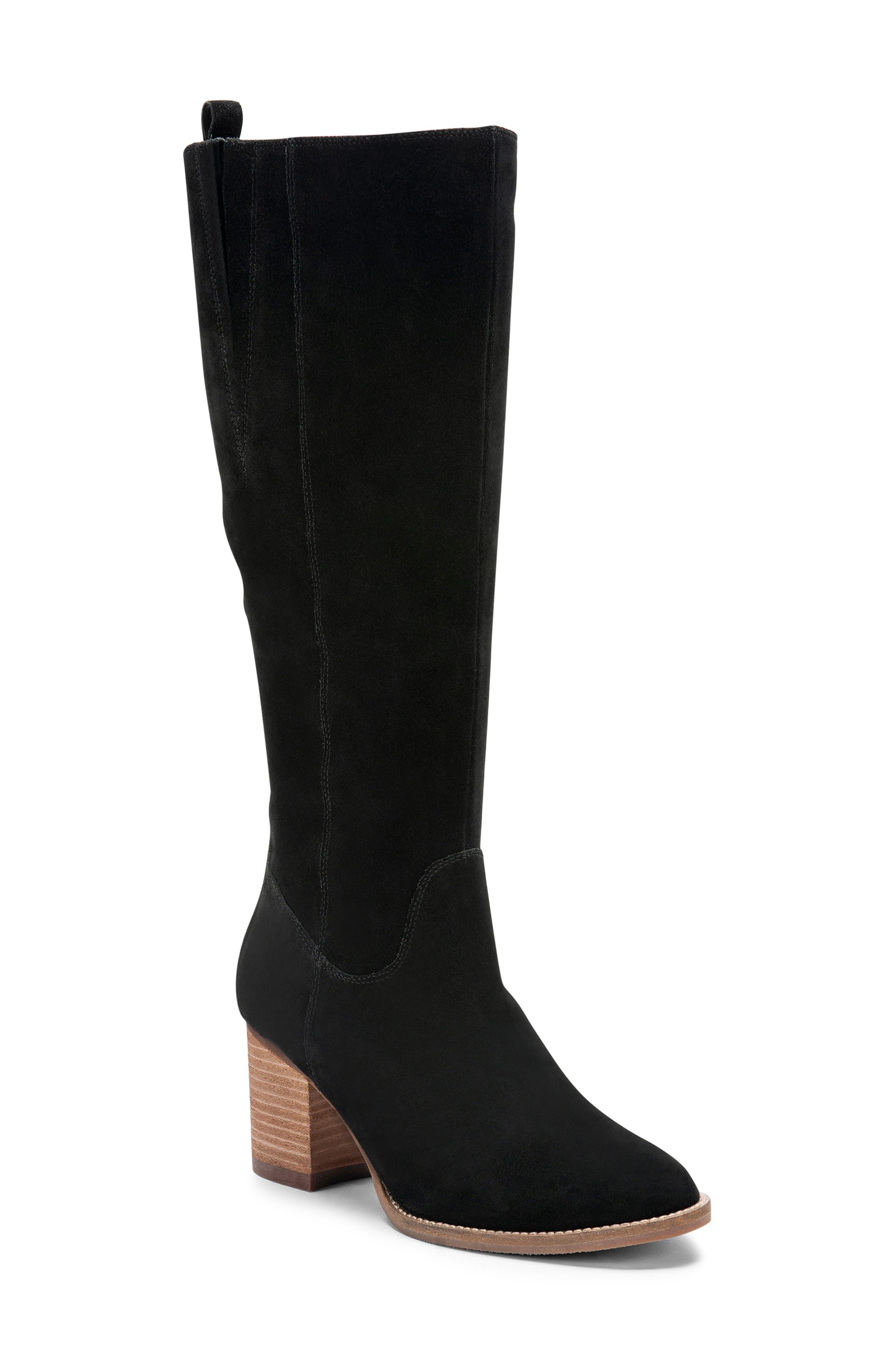 Blondo Nikki Waterproof Knee High Waterproof Boot- Black