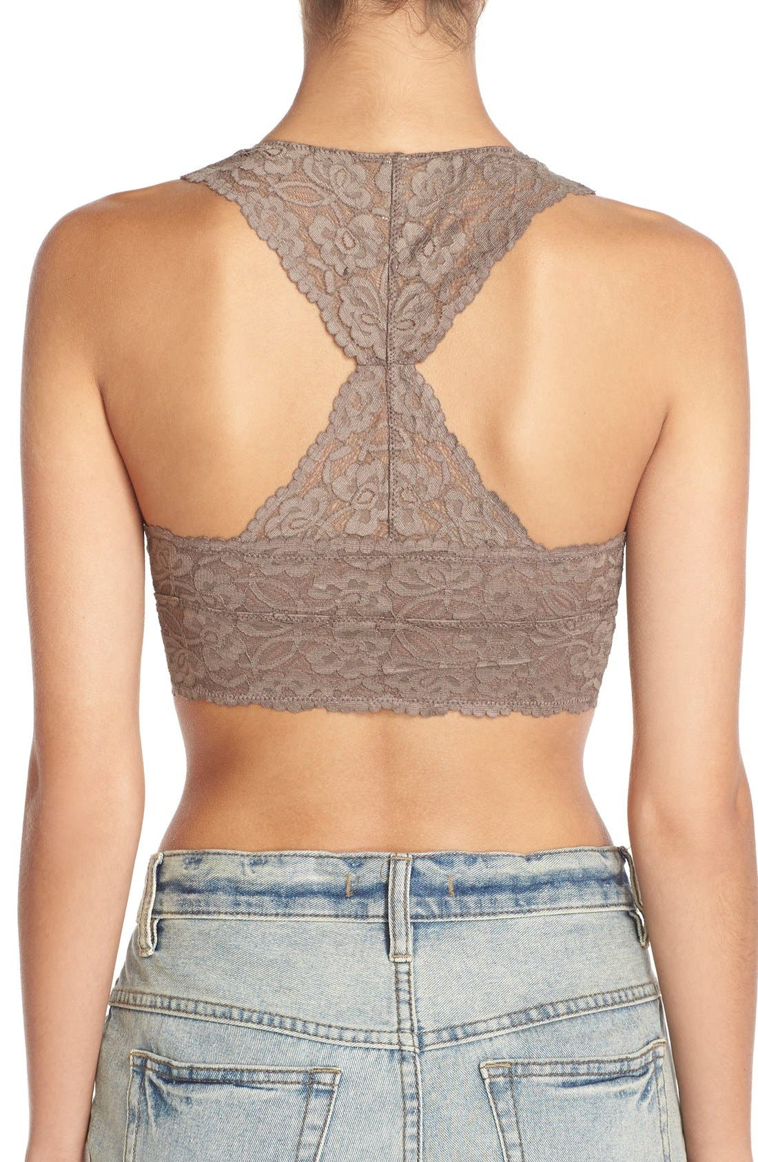Racerback Galloon Lace Bralette,                             Alternate thumbnail 56, color,