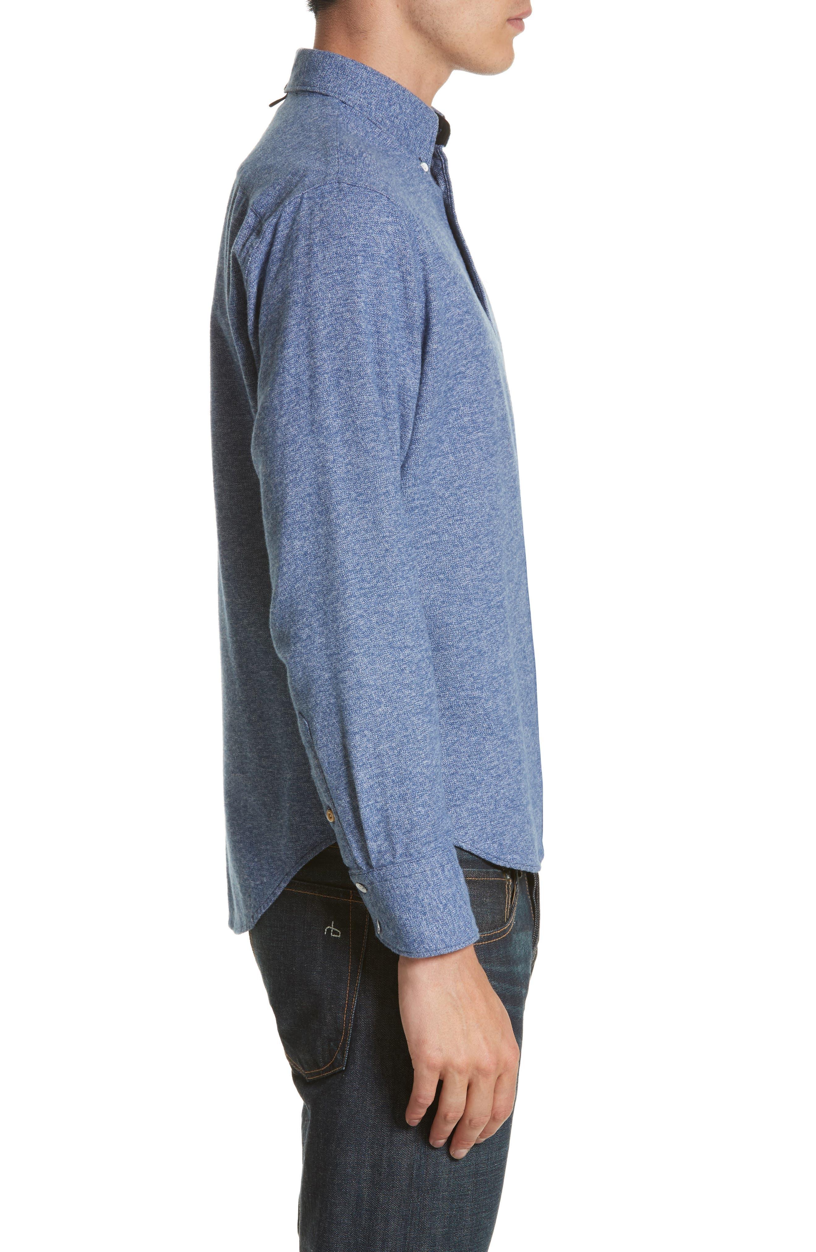 Fit 2 Base Woven Shirt,                             Alternate thumbnail 4, color,                             400