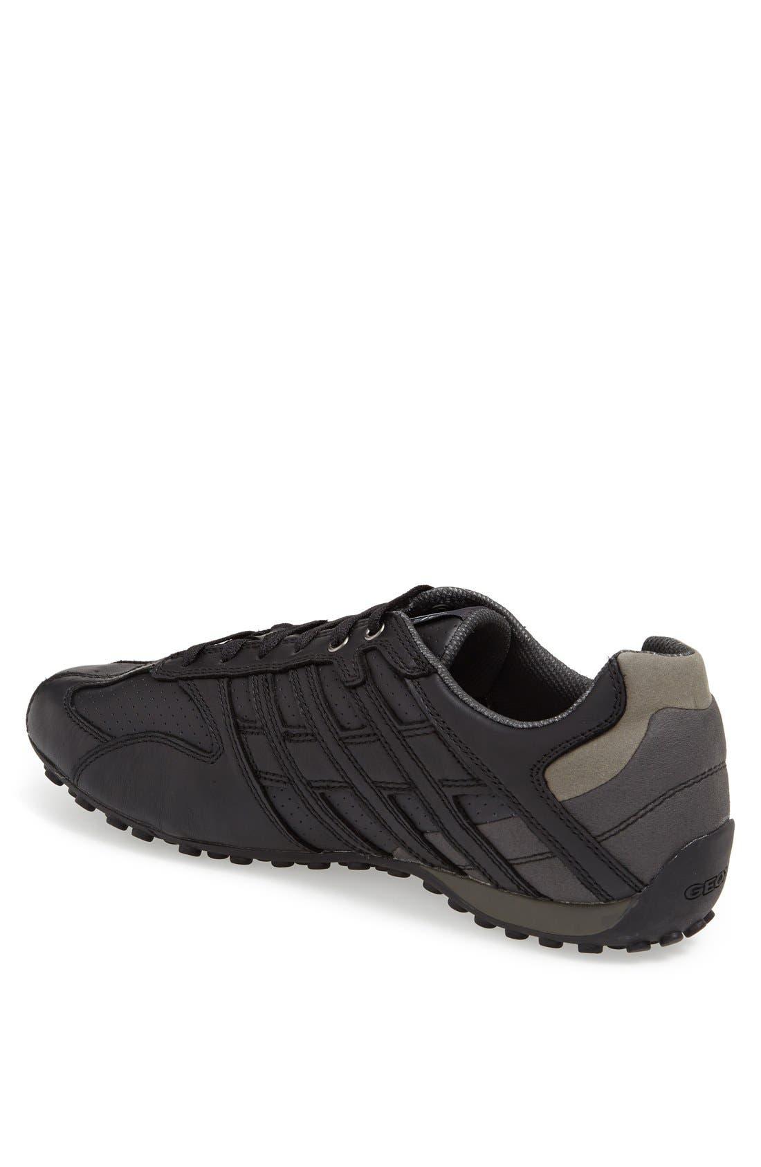 'Snake 92' Sneaker,                             Alternate thumbnail 4, color,                             001