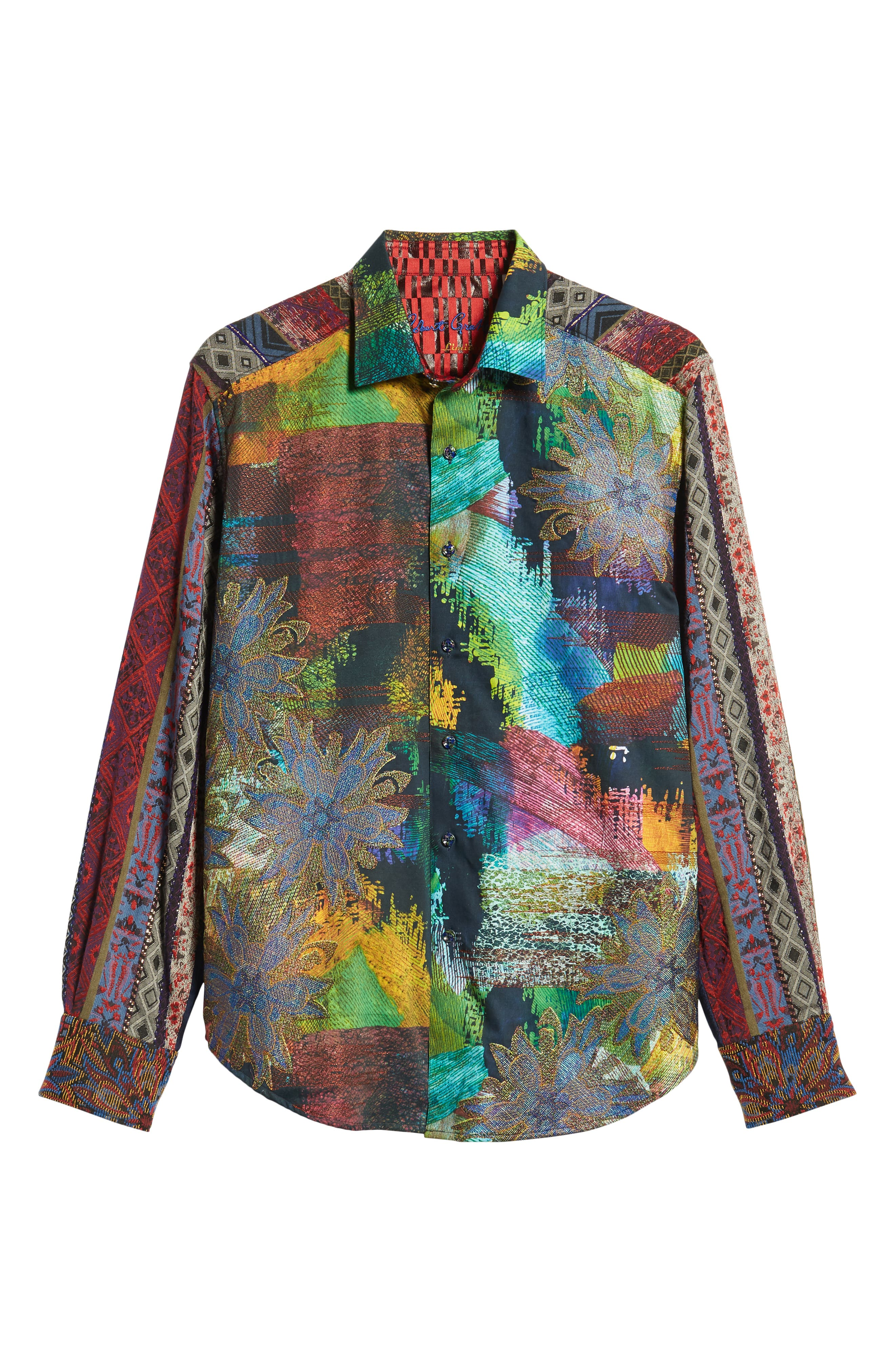 Riley's Dream Limited Edition Classic Fit Sport Shirt,                             Alternate thumbnail 5, color,                             MULTI