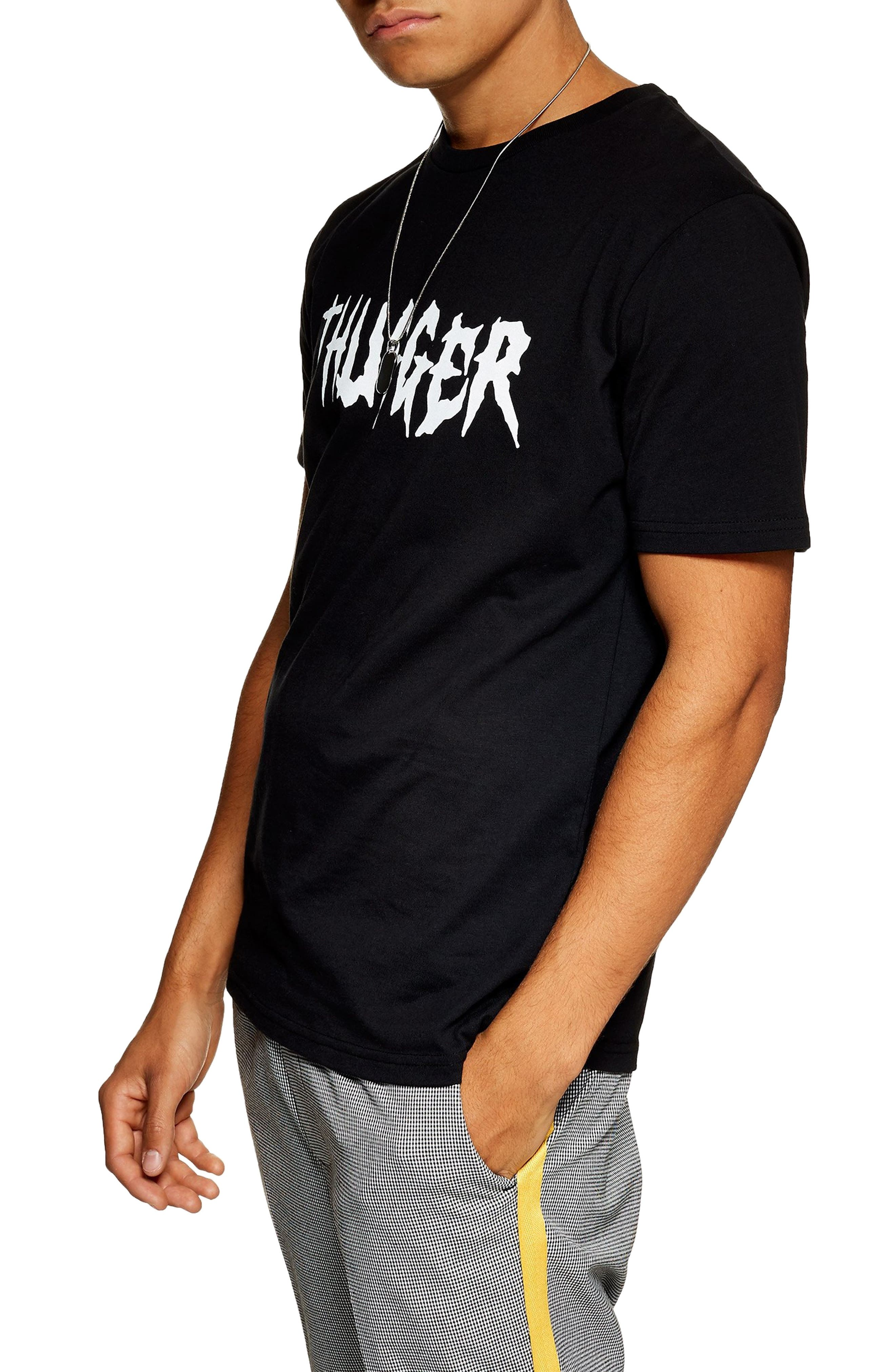 Thugger Graphic T-Shirt, Main, color, 001