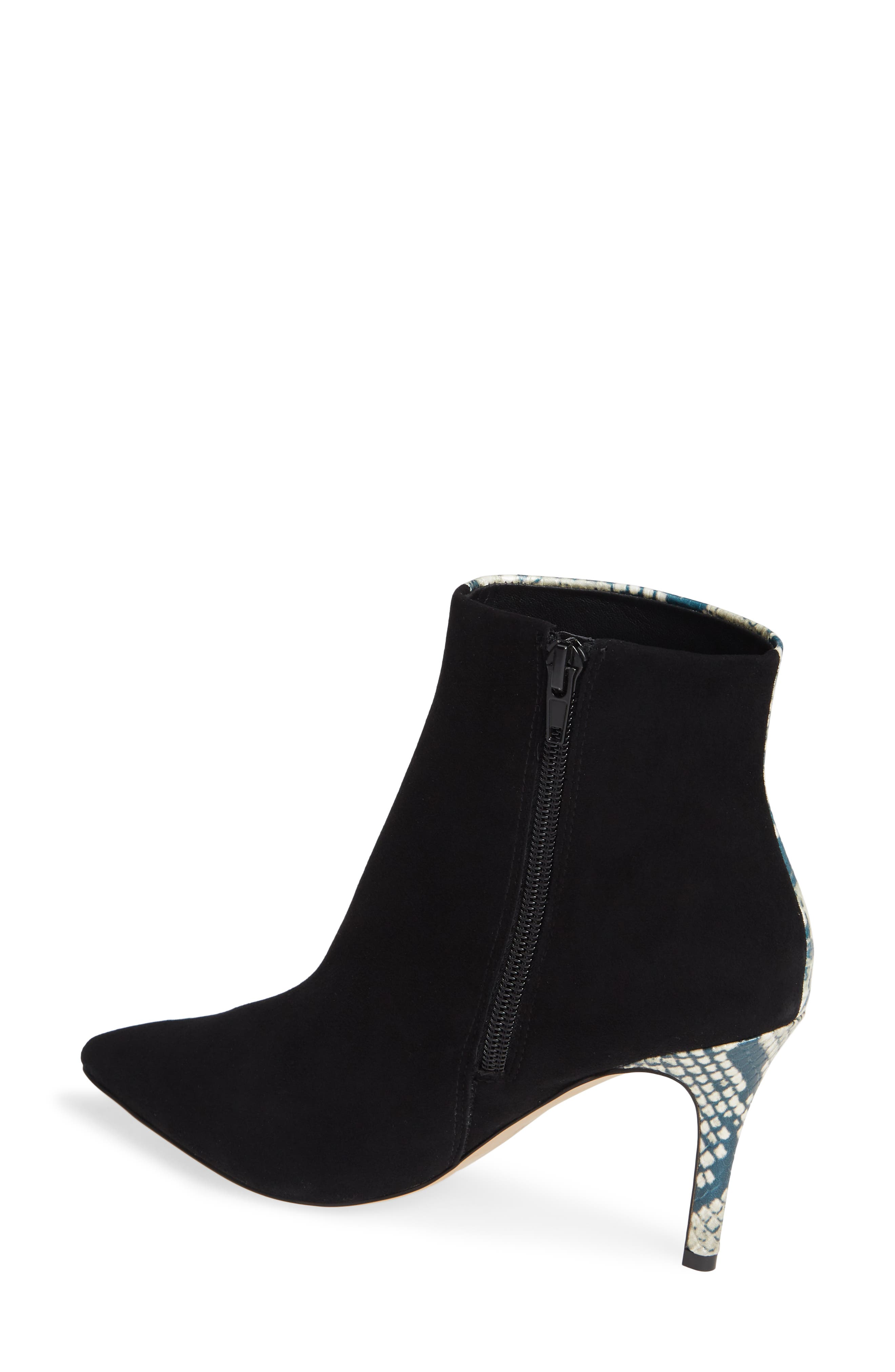 SOMETHING NAVY,                             Elisa Colorblock Bootie,                             Alternate thumbnail 2, color,                             001