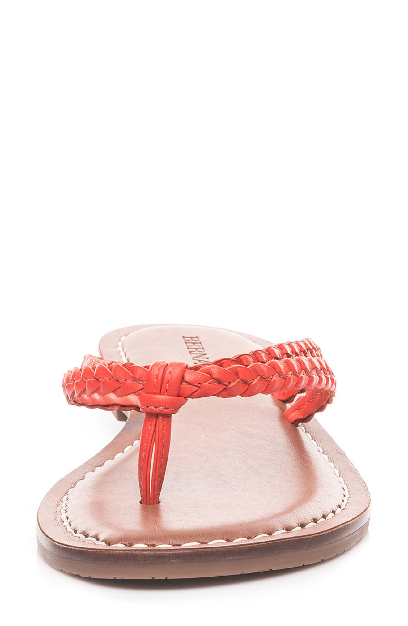 Bernardo Greta Braided Strap Sandal,                             Alternate thumbnail 28, color,
