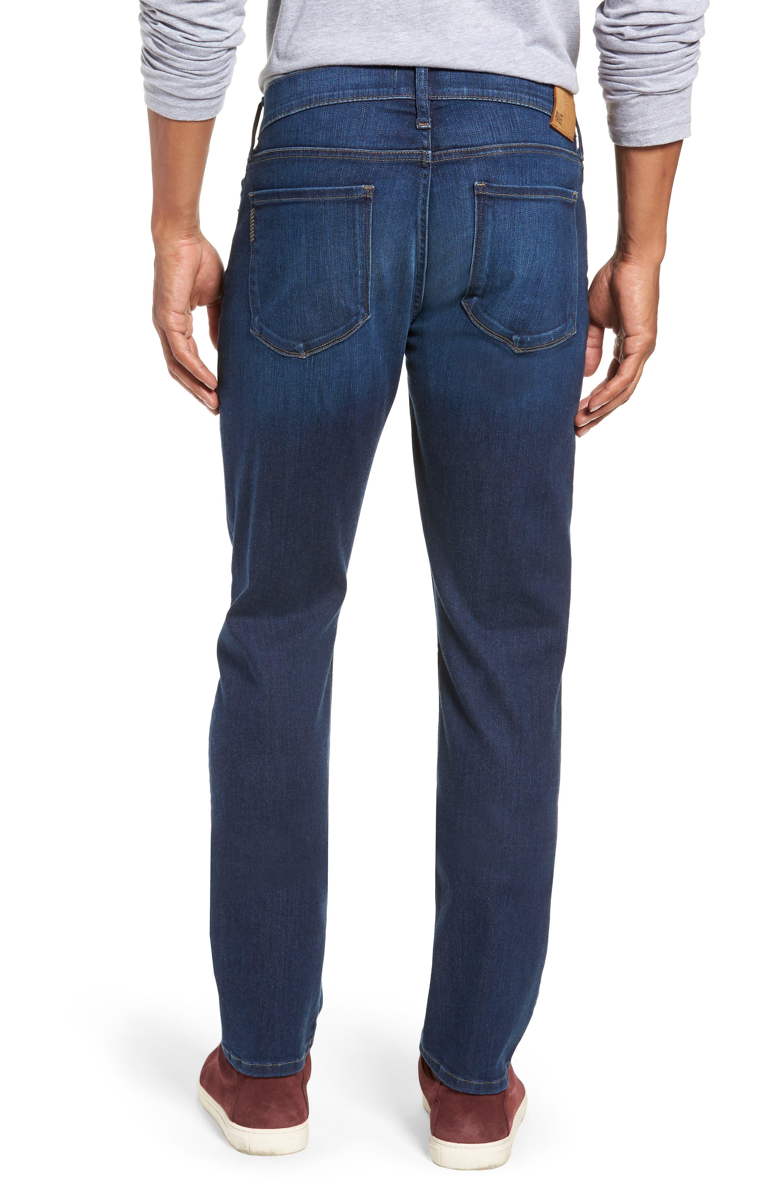 Transcend Vintage - Federal Slim Straight Leg Jeans,                             Alternate thumbnail 2, color,                             ELWYN