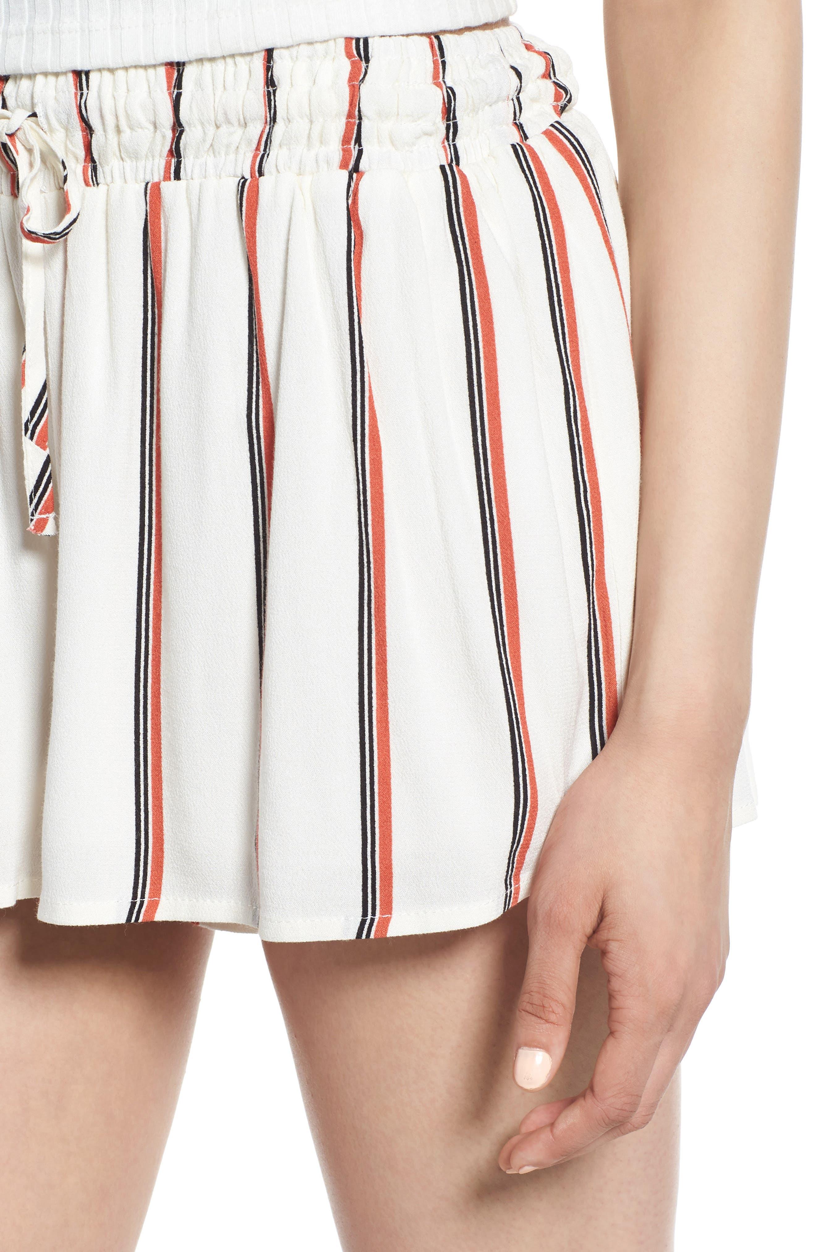 Juniper Stripe Shorts,                             Alternate thumbnail 8, color,