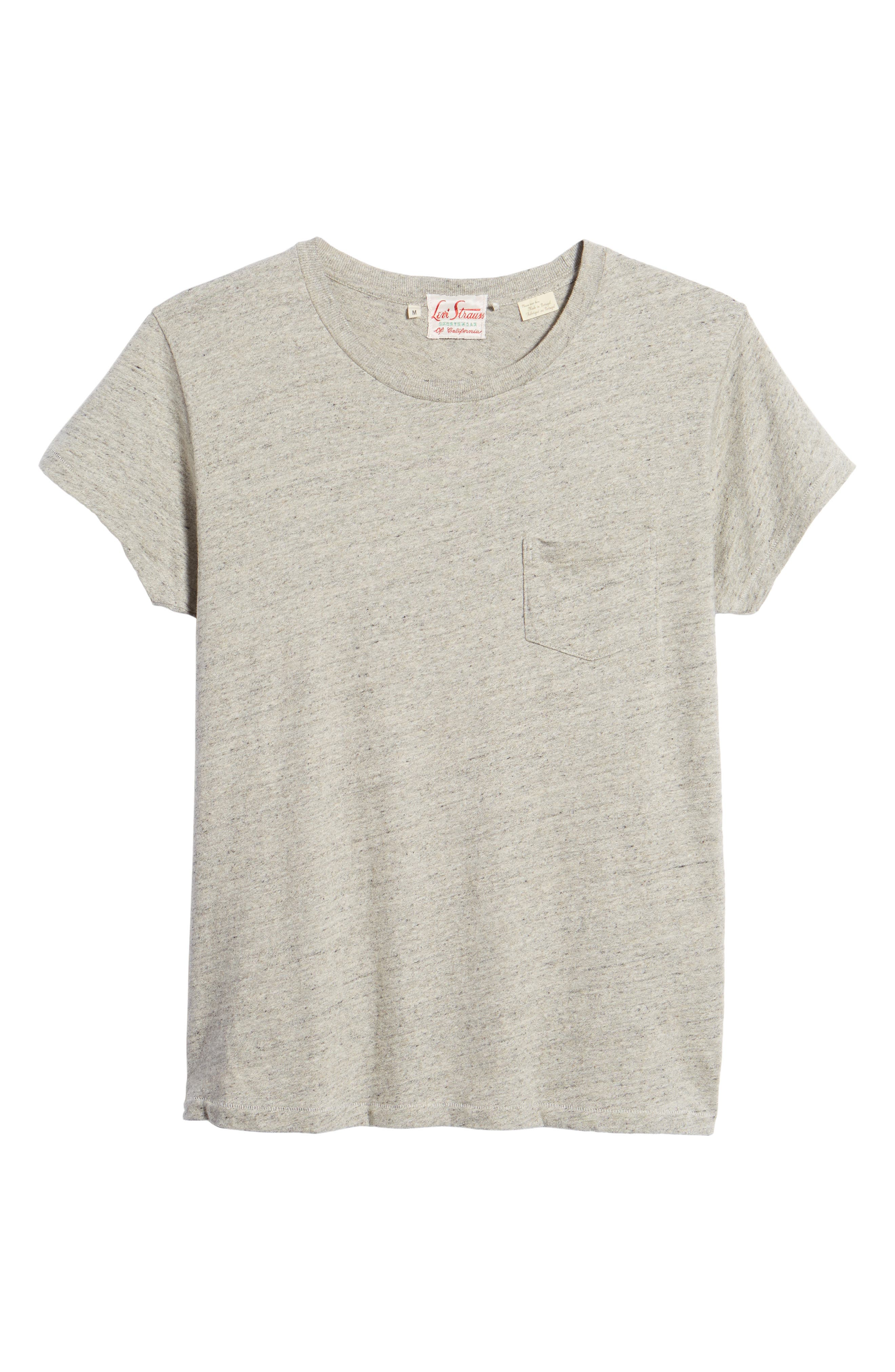 LEVI'S<SUP>®</SUP> VINTAGE CLOTHING,                             Levi's Vintage Clothing 1950s Sportswear Pocket T-Shirt,                             Alternate thumbnail 6, color,                             020