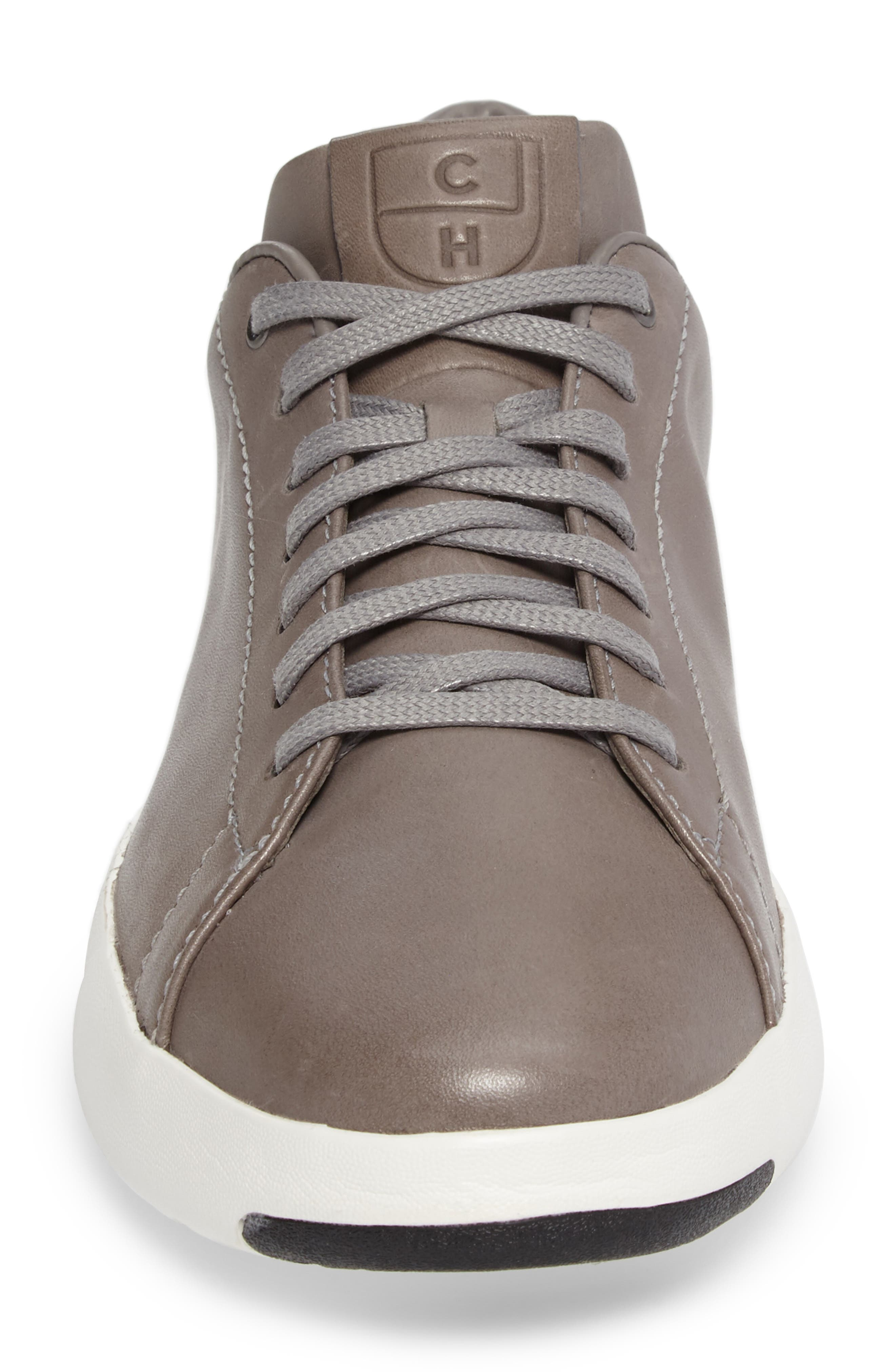 GrandPro Tennis Sneaker,                             Alternate thumbnail 4, color,                             IRONCLOUD LEATHER