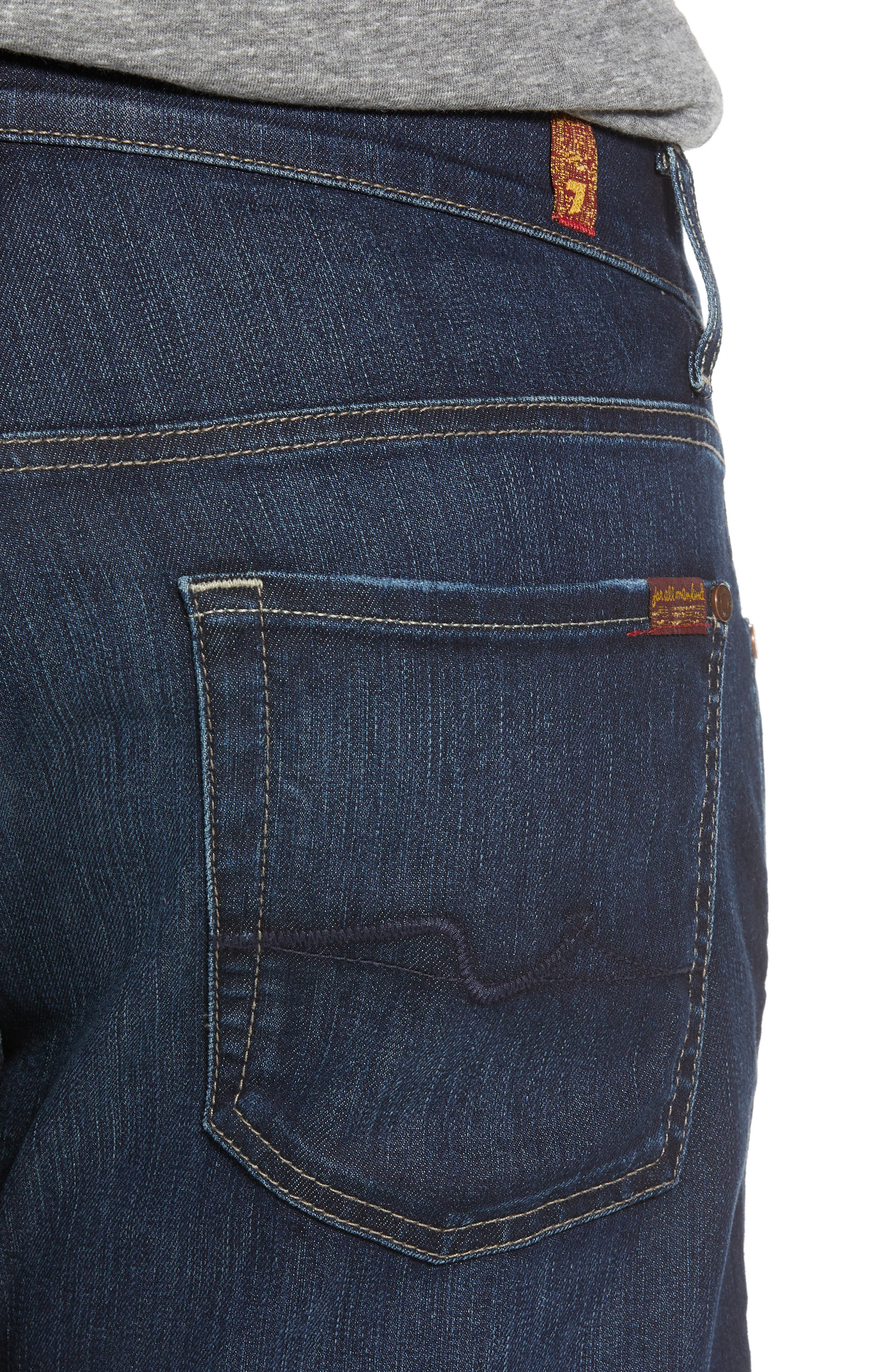 Airweft Austyn Relaxed Straight Leg Jeans,                             Alternate thumbnail 4, color,                             406