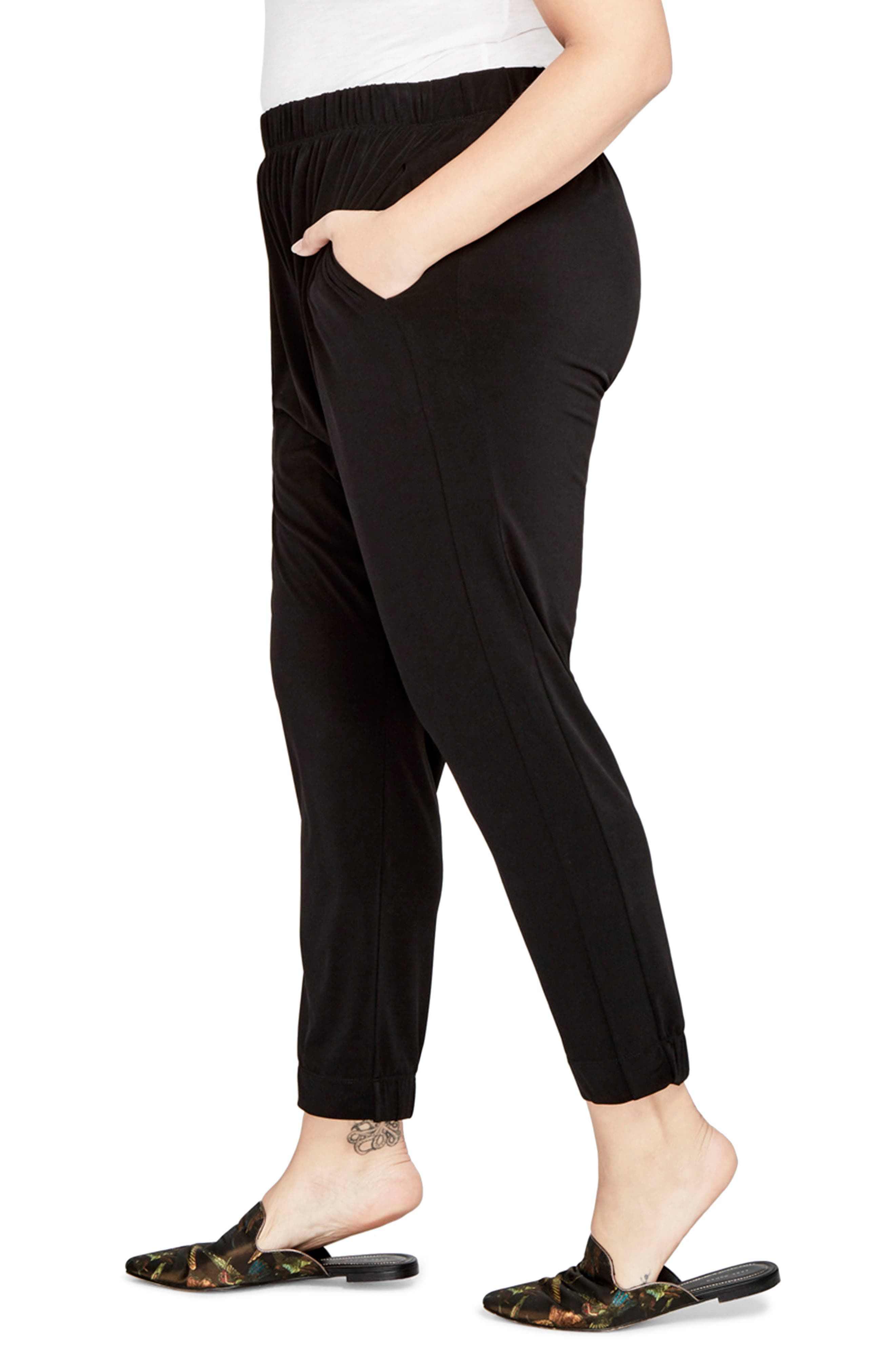 Pull-On Jogger Pants,                             Alternate thumbnail 3, color,                             001
