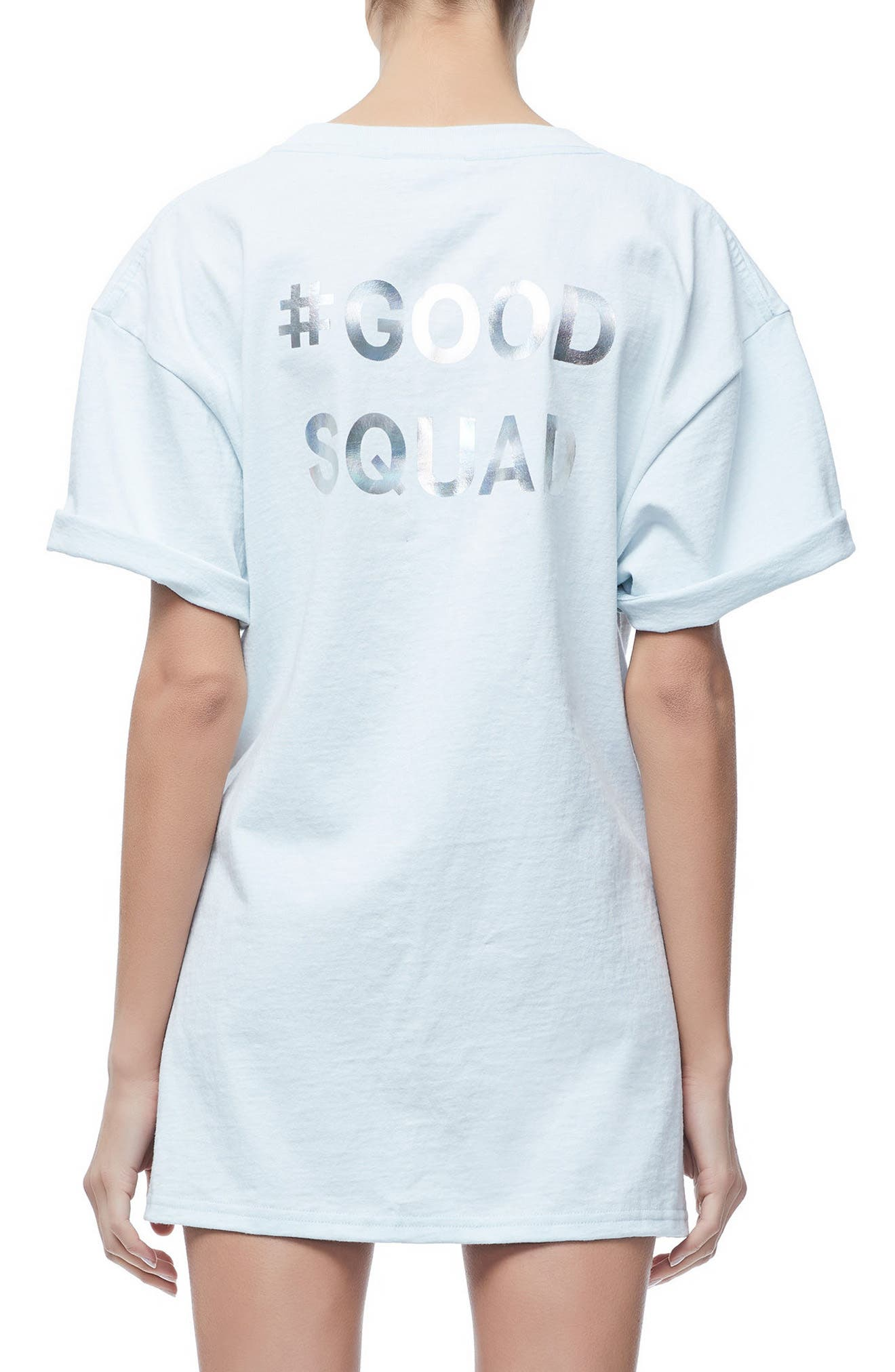 Good Squad Tee,                             Alternate thumbnail 3, color,                             BLUE