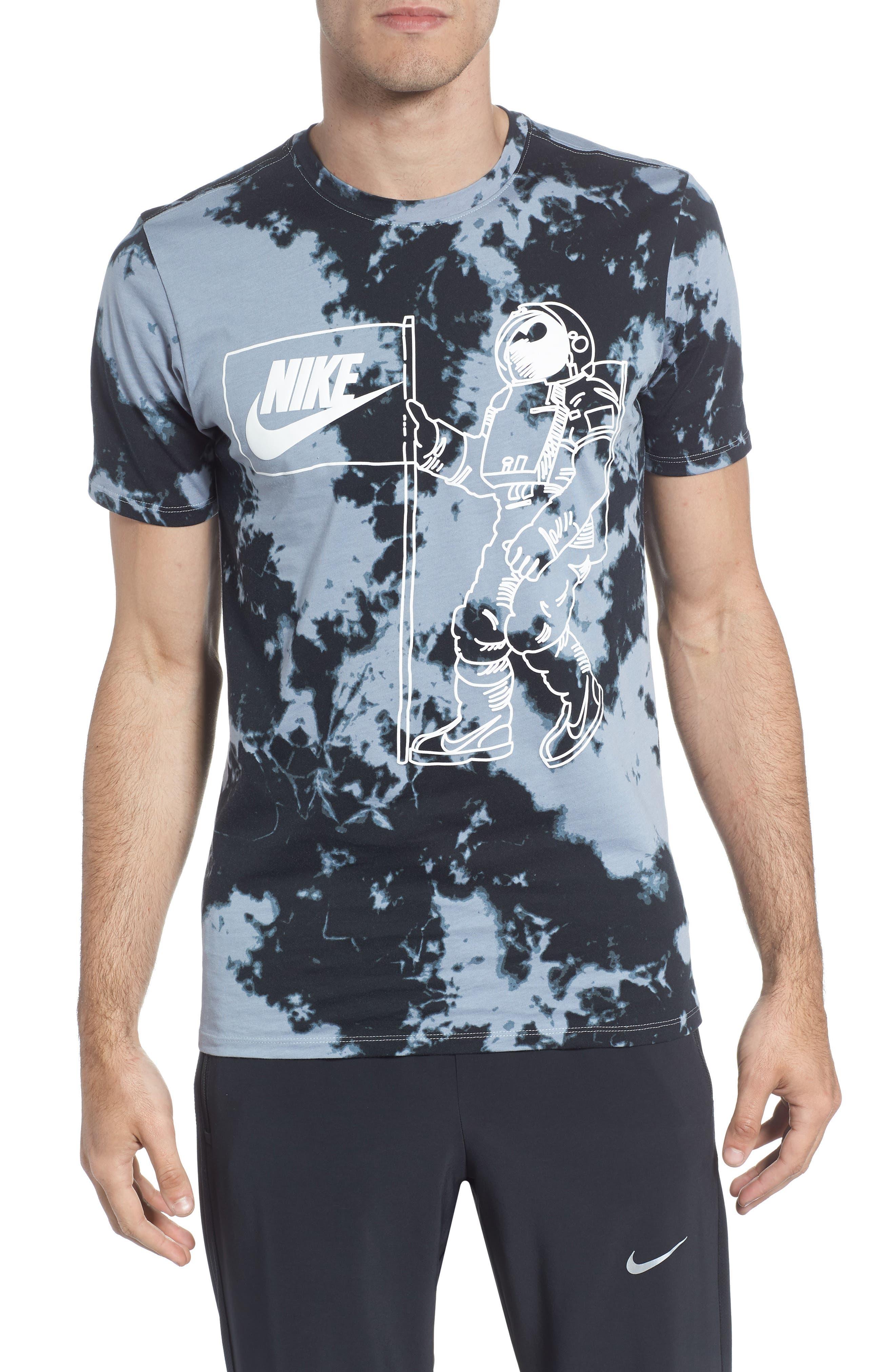 Sportswear Tie Dye T-Shirt,                             Main thumbnail 1, color,