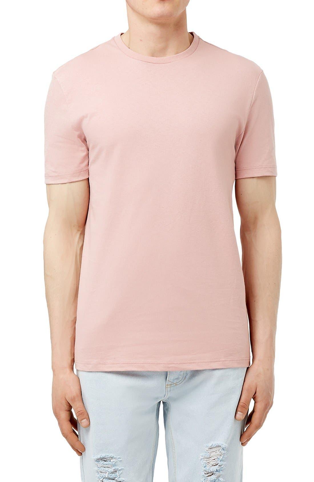 Slim Fit Crewneck T-Shirt,                             Main thumbnail 89, color,