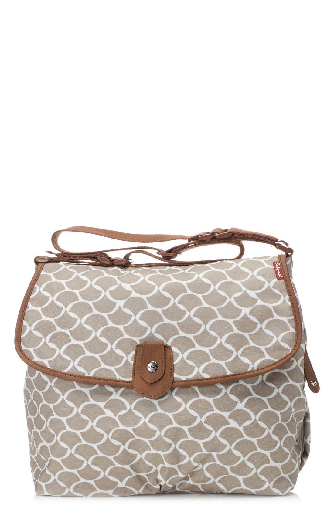 Satchel Wave Fawn Diaper Bag,                             Main thumbnail 1, color,
