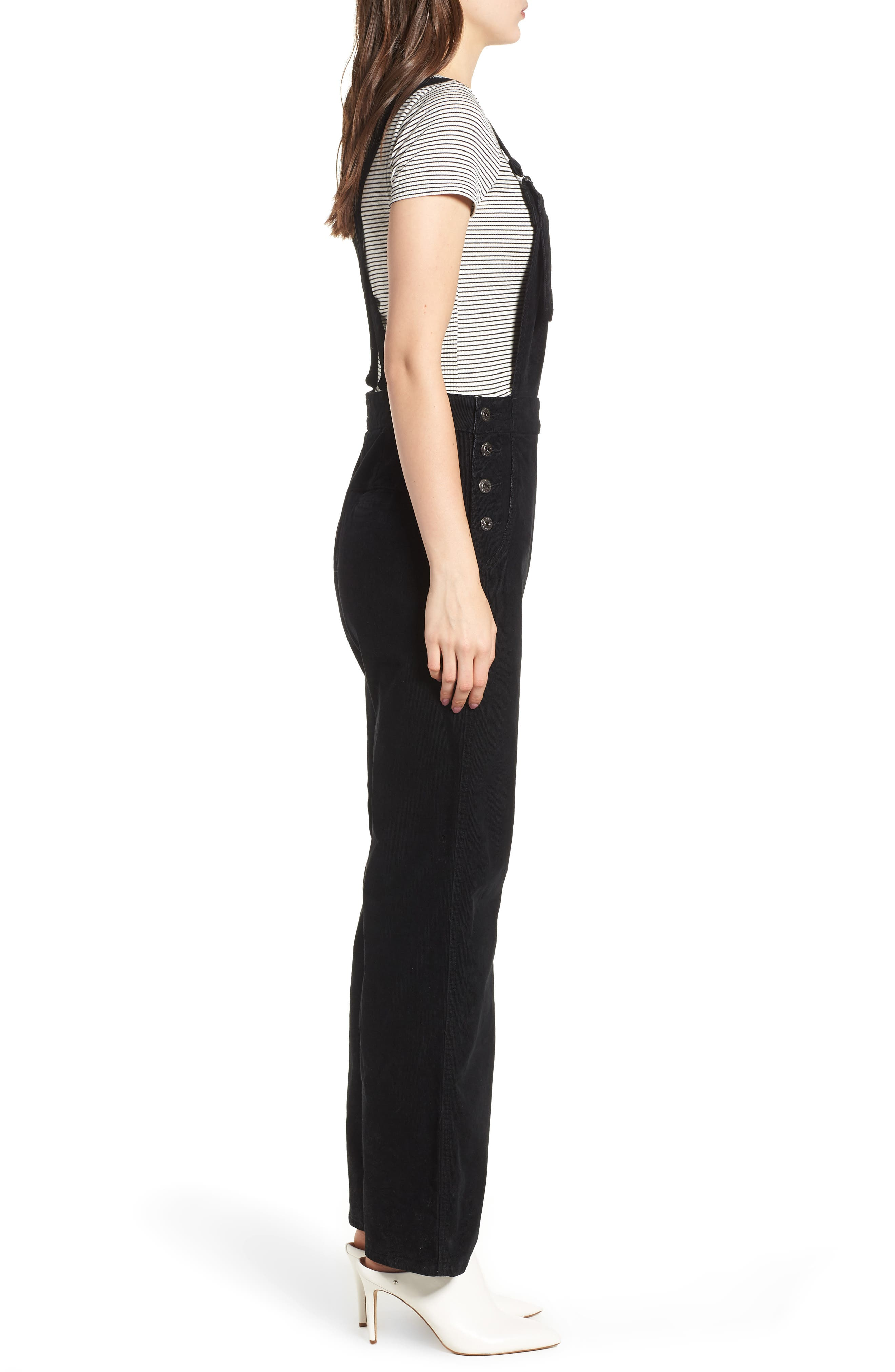 Gwendolyn Corduroy Overalls,                             Alternate thumbnail 3, color,                             018
