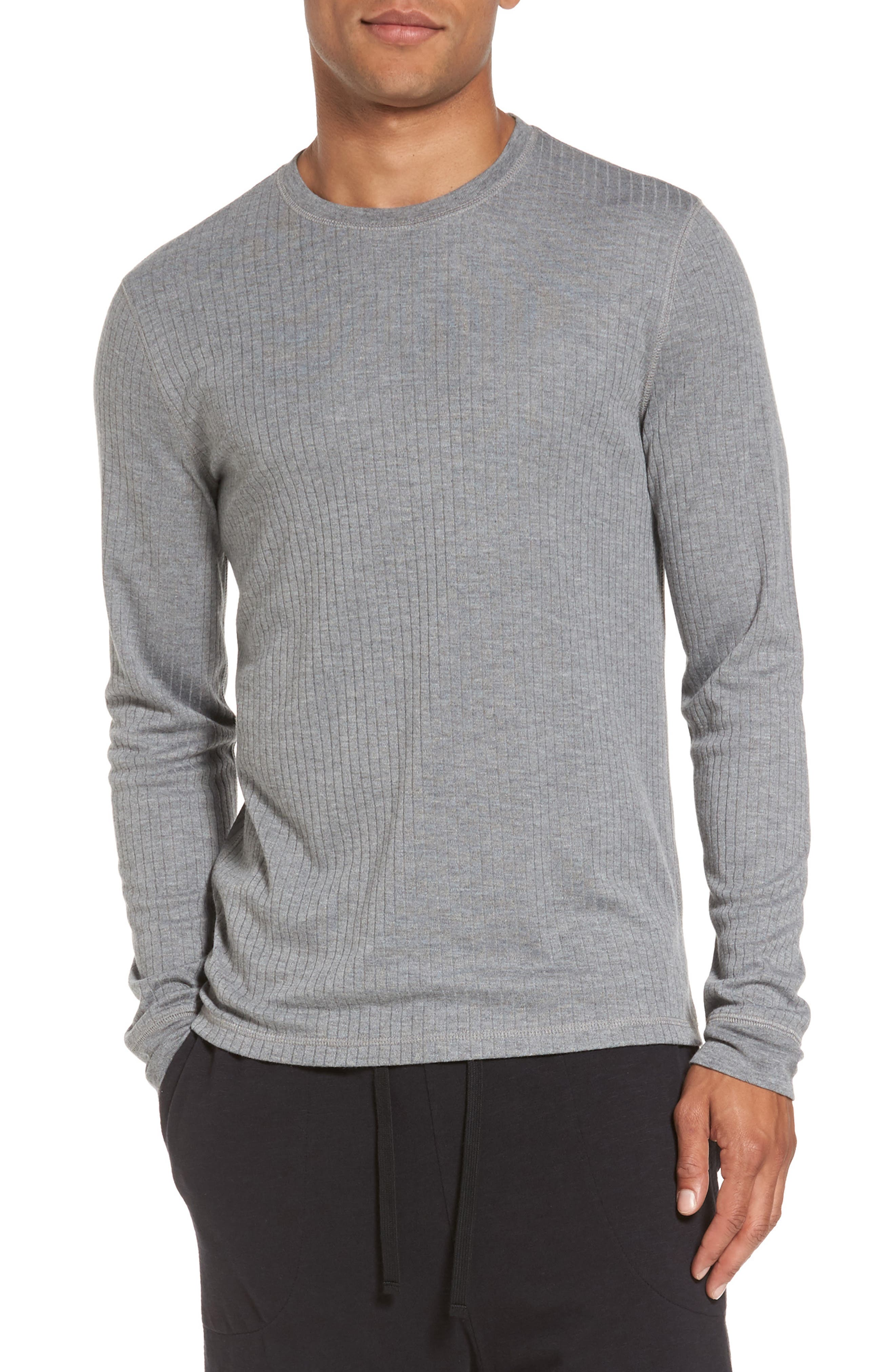 Ribbed Pullover,                         Main,                         color, 095