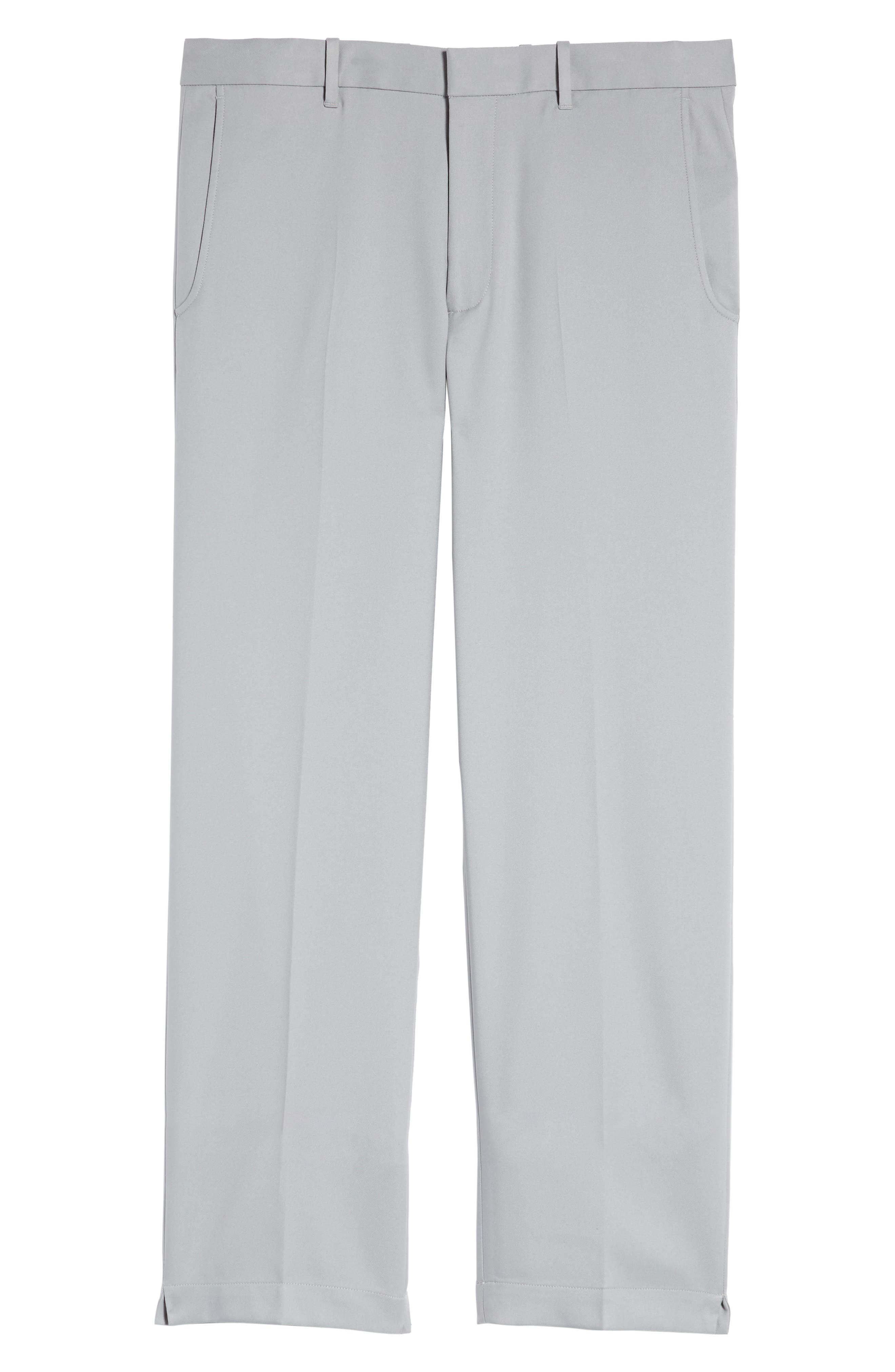 'Tech' Flat Front Wrinkle Free Golf Pants,                             Alternate thumbnail 6, color,                             052