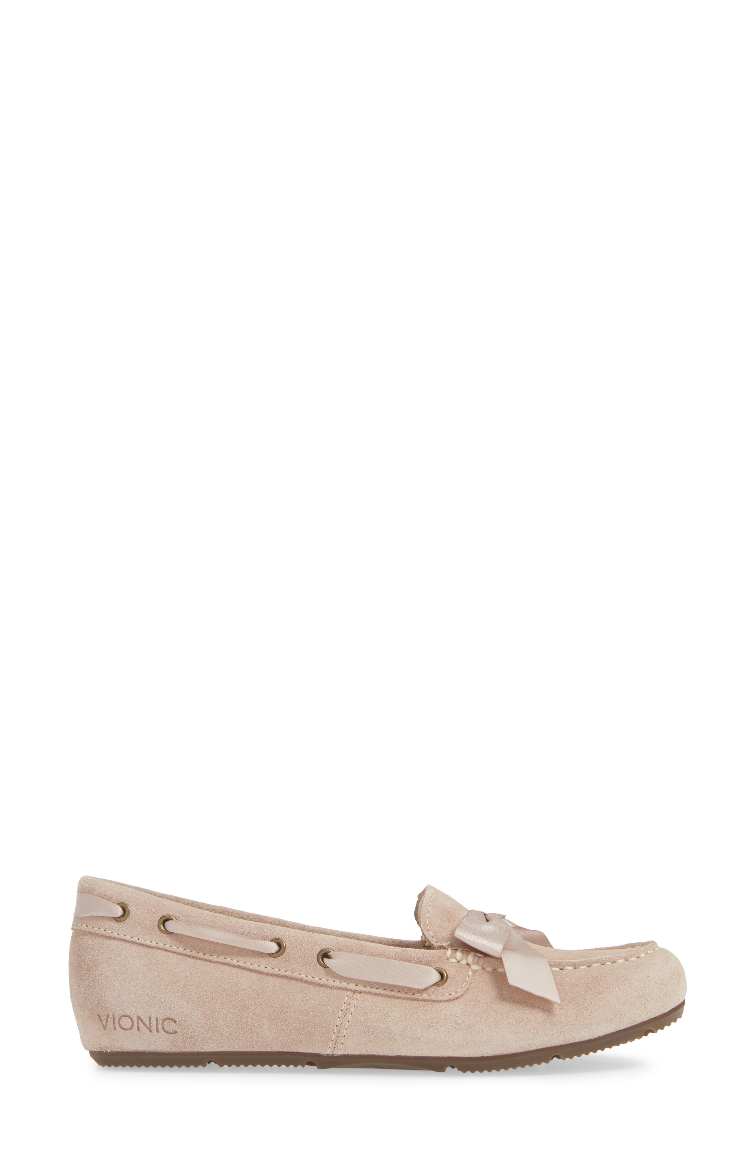 Alice Moccasin,                             Alternate thumbnail 3, color,                             NUDE SUEDE