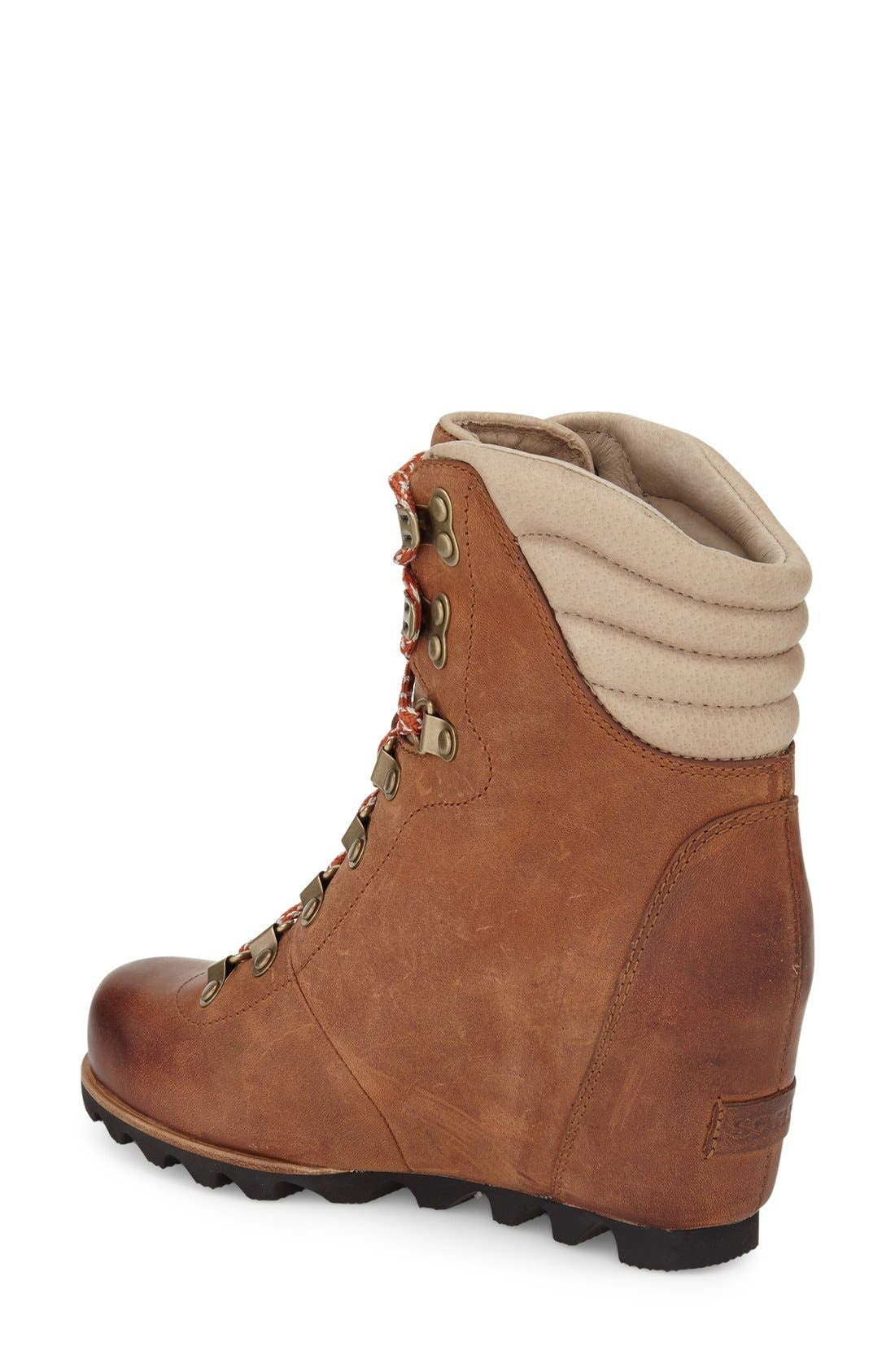 'Conquest' Waterproof Wedge Boot,                             Alternate thumbnail 24, color,