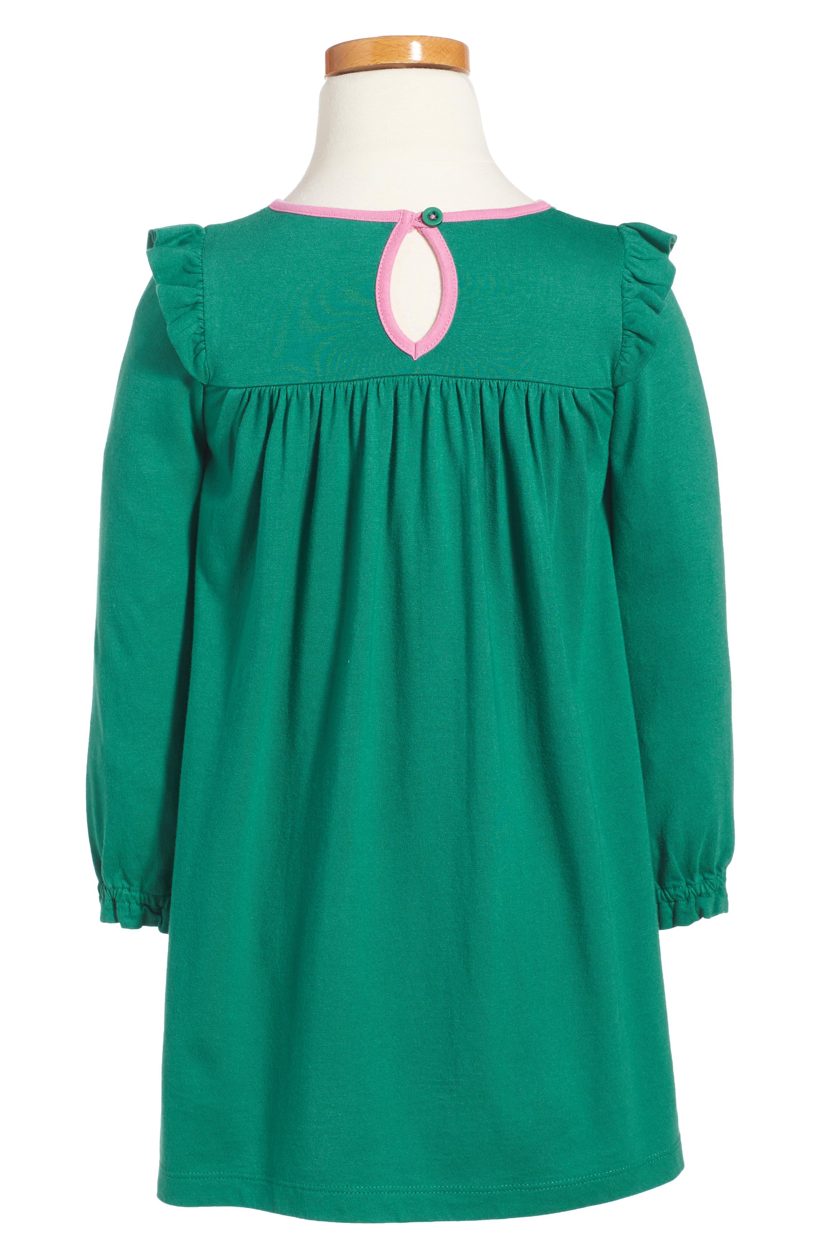 Frill Jersey Dress,                             Alternate thumbnail 2, color,                             315