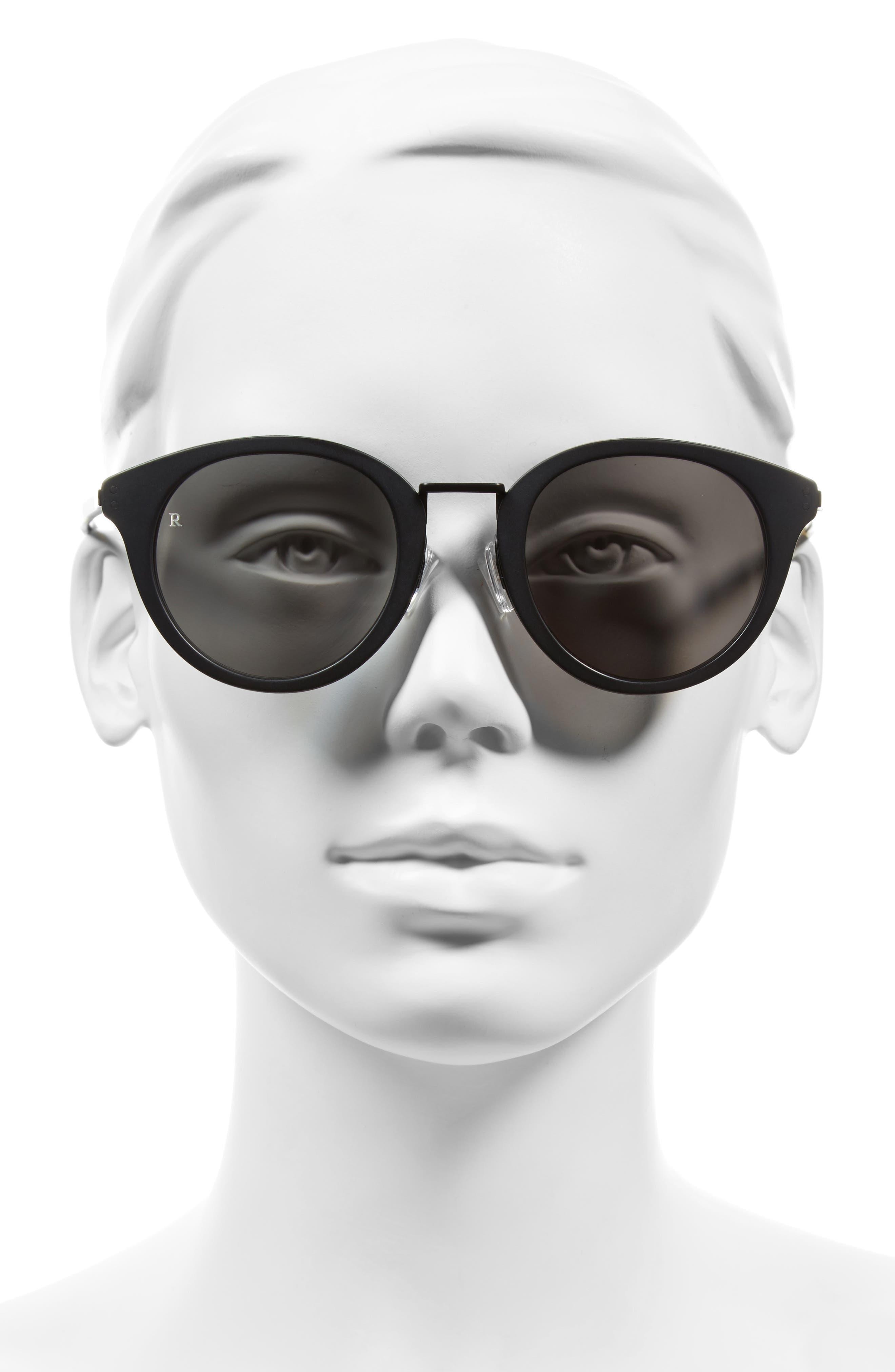 Potrero 50mm Sunglasses,                             Alternate thumbnail 3, color,                             001