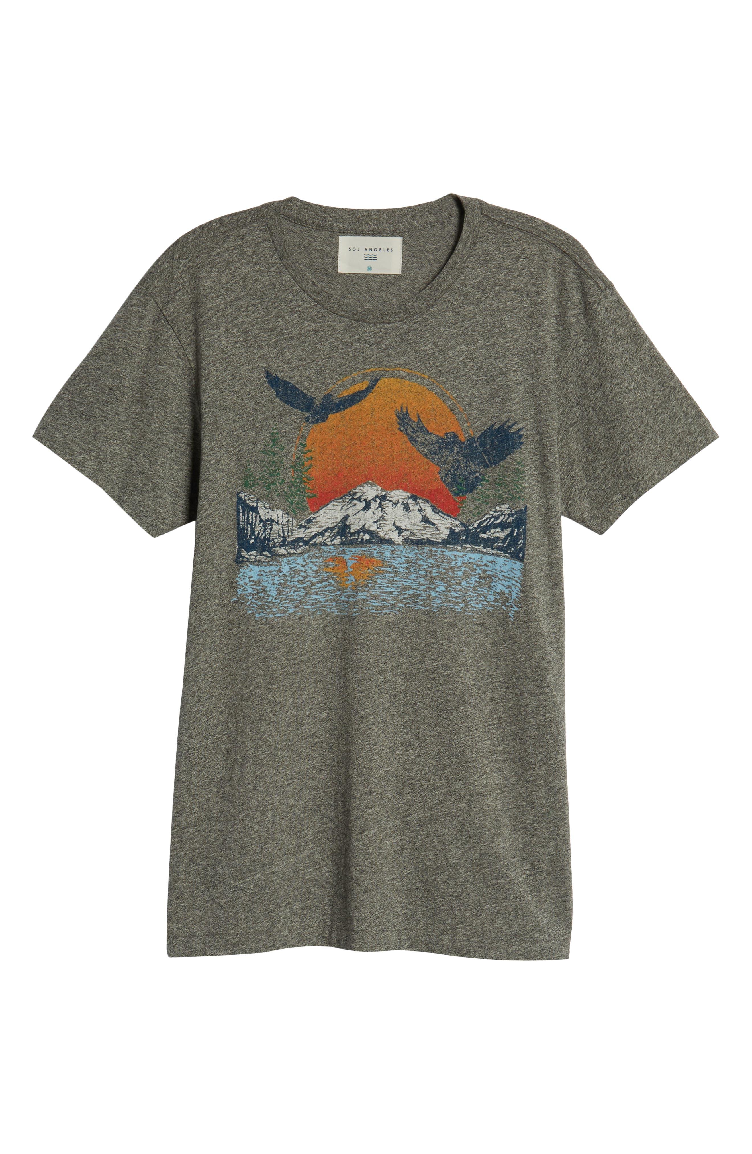 Lake Arrowhead Graphic T-Shirt,                             Alternate thumbnail 6, color,                             020