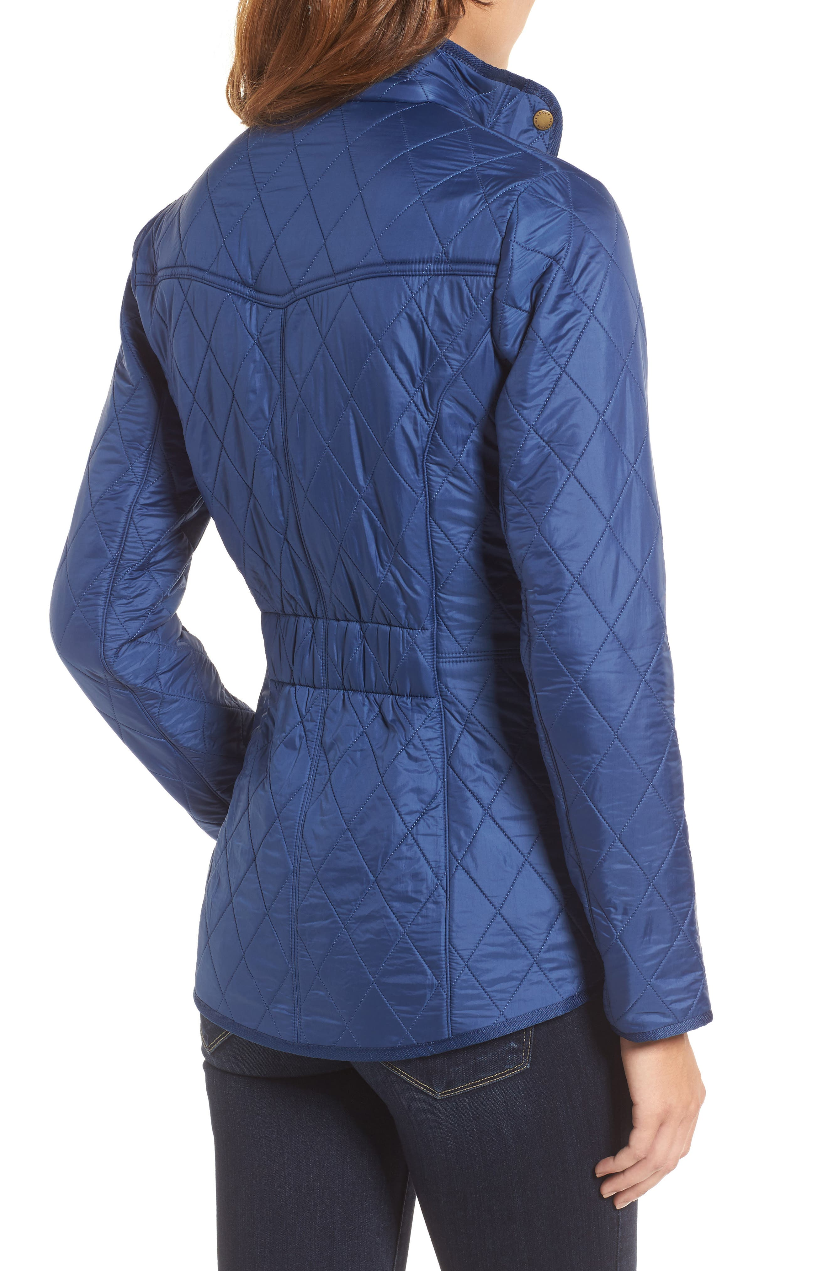 'Cavalry' Quilted Jacket,                             Alternate thumbnail 23, color,