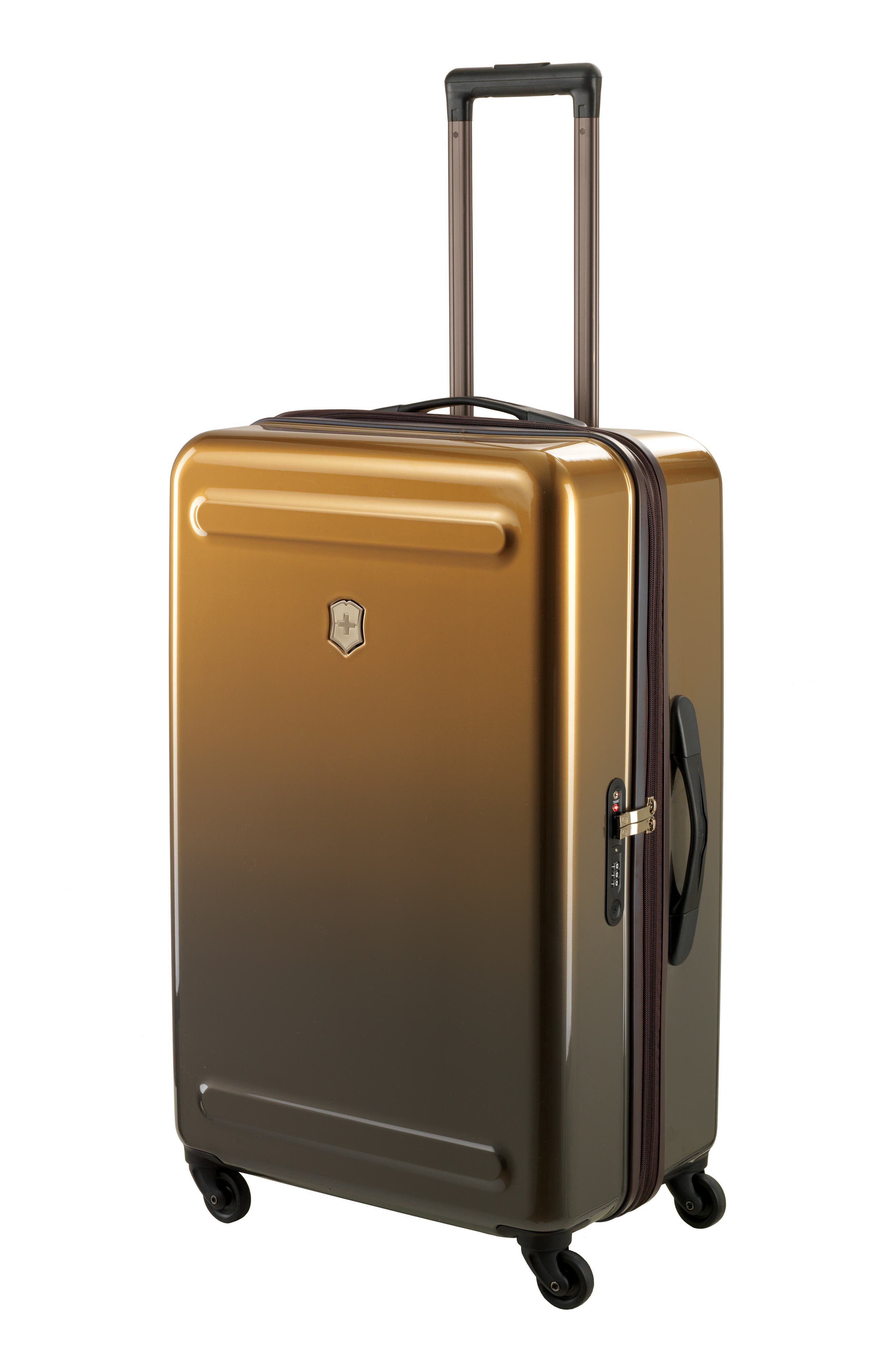 Etherius 30-Inch Wheeled Suitcase,                             Alternate thumbnail 3, color,                             BRONZE