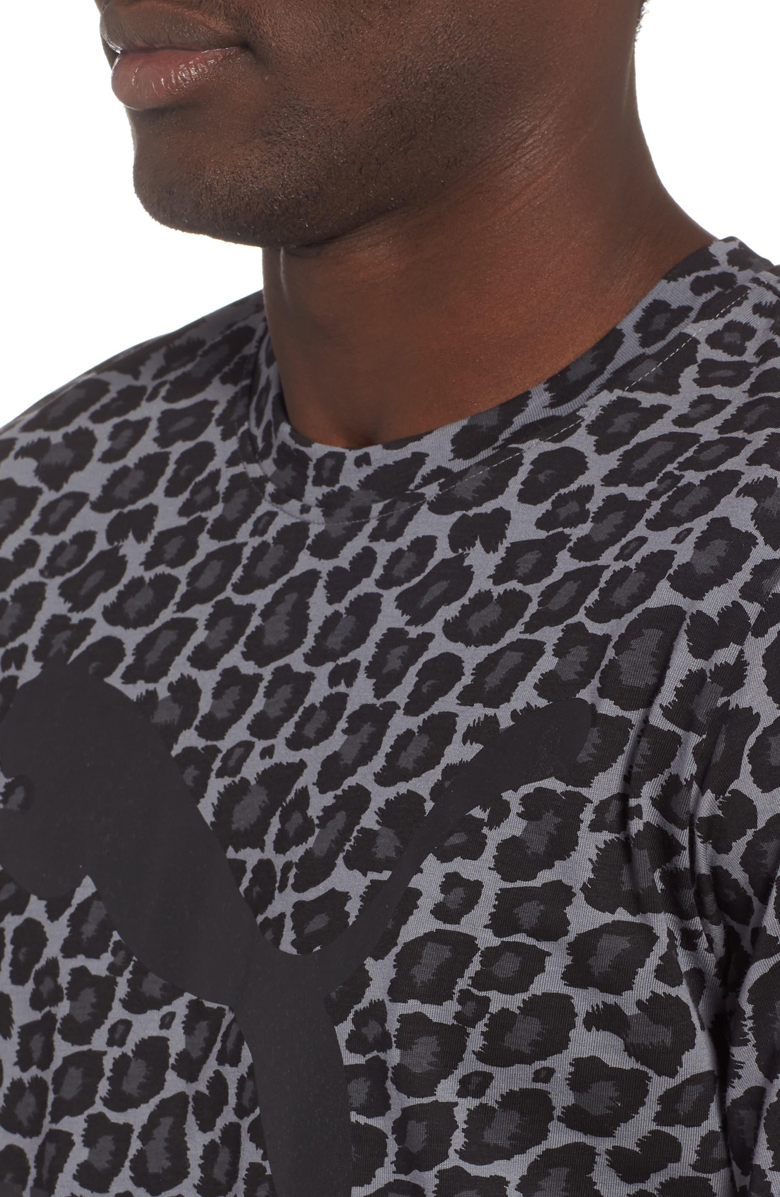 Wild Pack AOP Logo T-Shirt,                             Alternate thumbnail 4, color,                             SMOKED PEARL