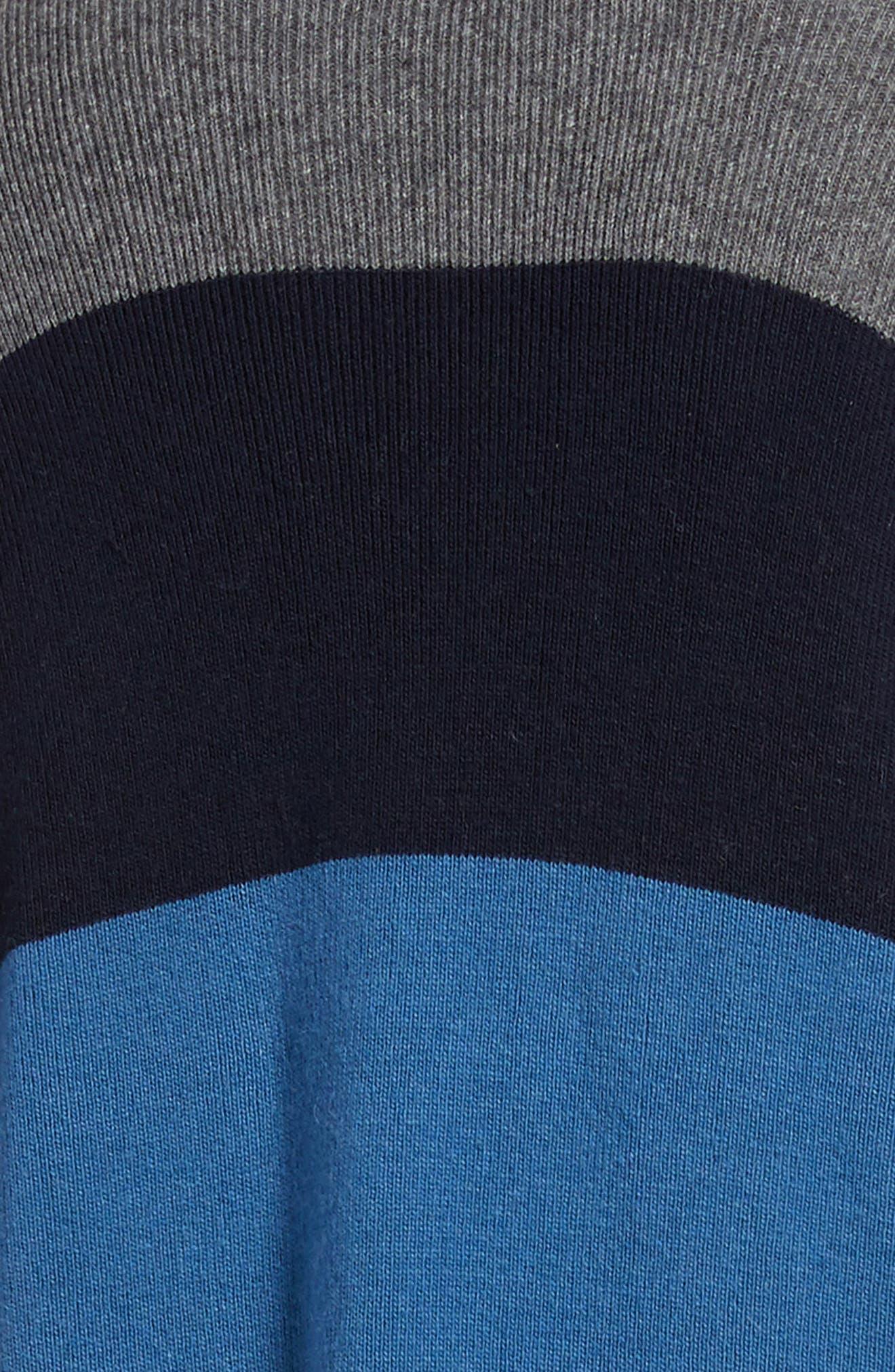 TREASURE & BOND,                             Stripe Cardigan,                             Alternate thumbnail 5, color,                             400