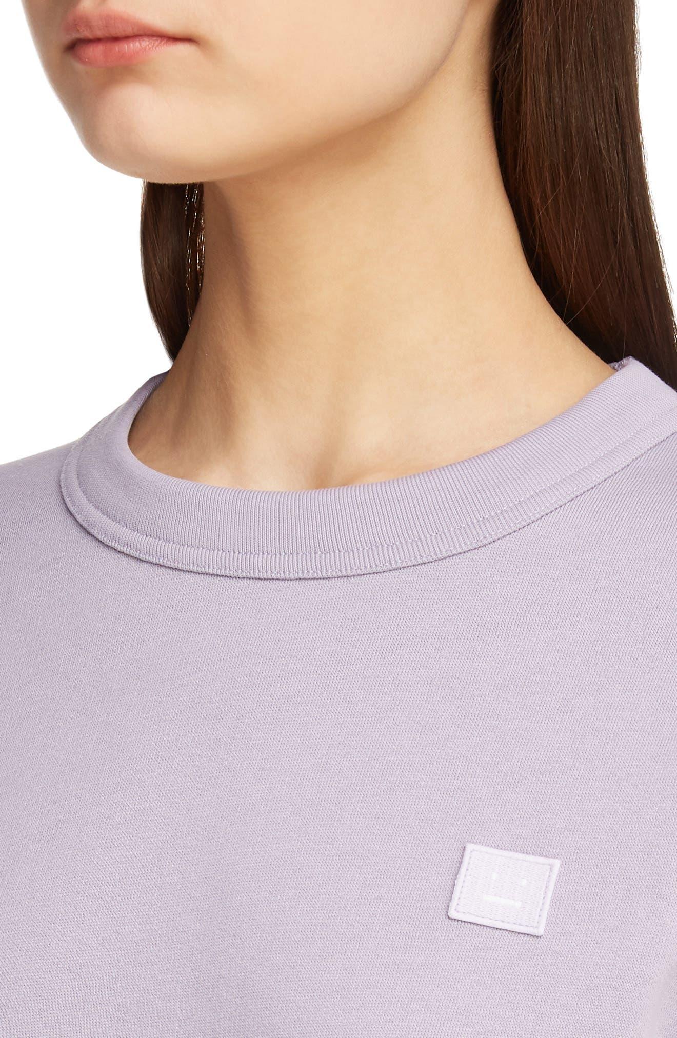Fairview Face Sweatshirt,                             Alternate thumbnail 4, color,                             MAUVE PURPLE