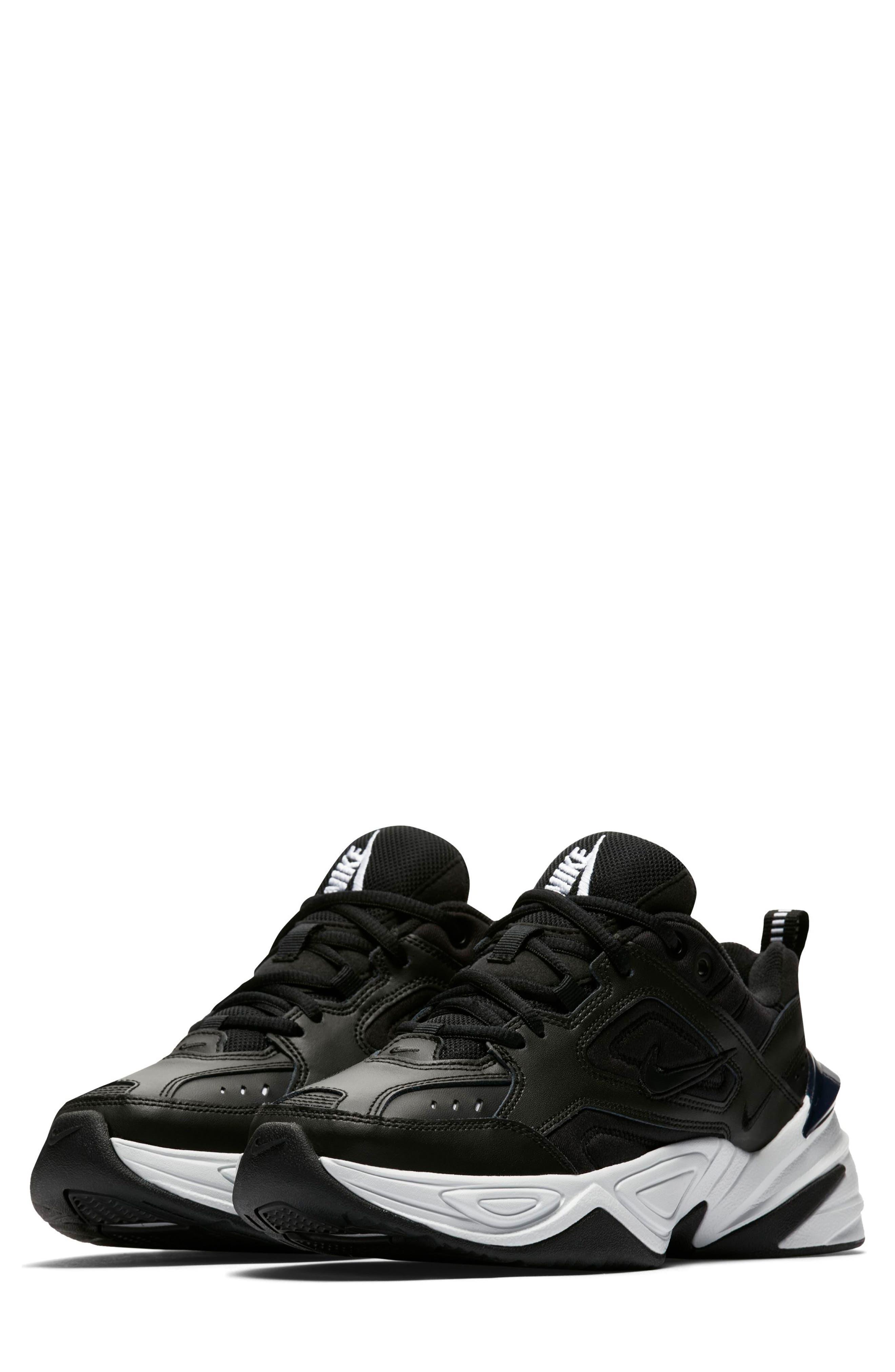 M2K Tekno Sneaker,                         Main,                         color, BLACK/ OFF WHITE/ OBSIDIAN
