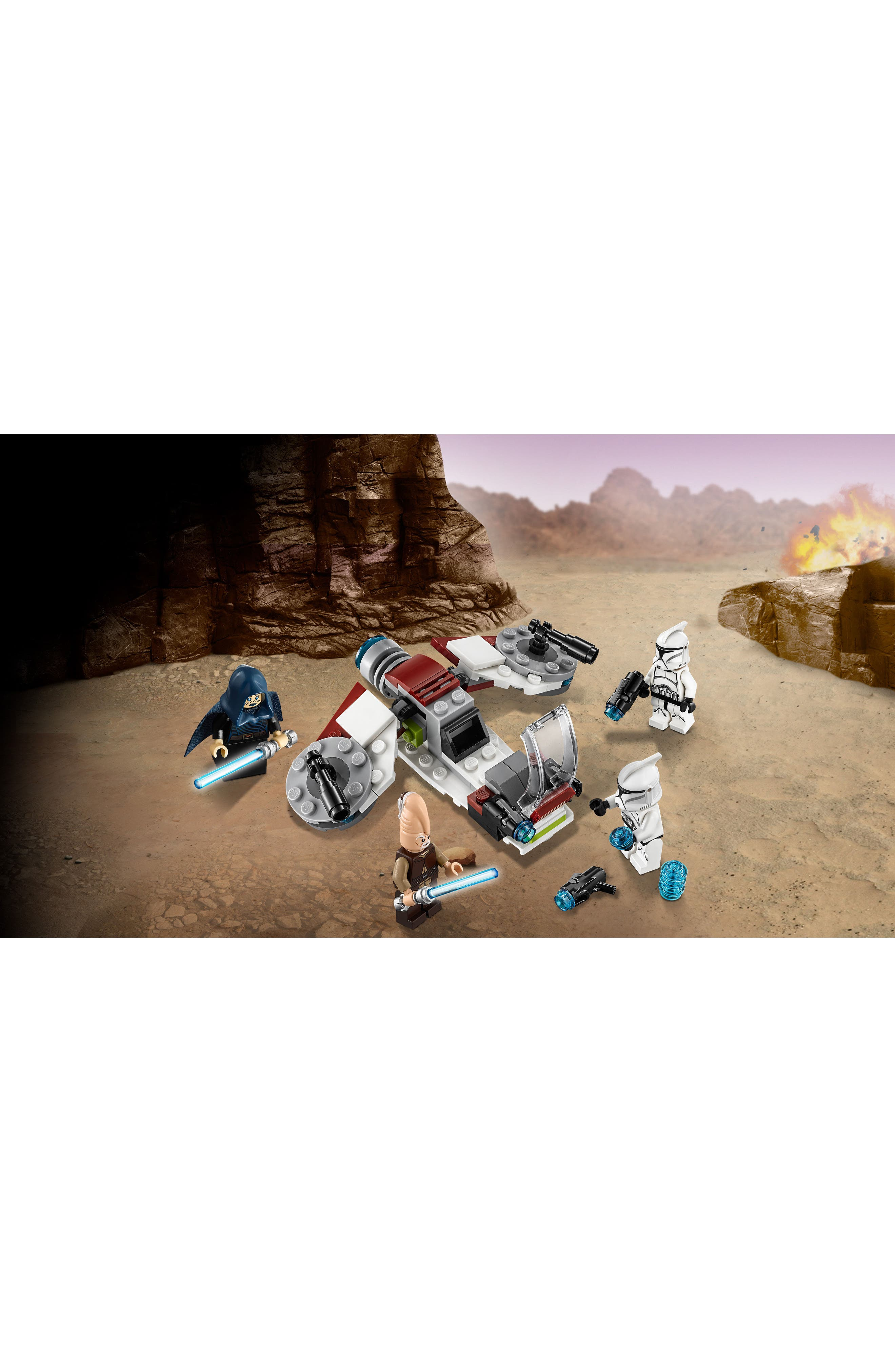Jedi<sup>™</sup> and Clone Troopers<sup>™</sup> Battle Pack - 75206,                             Alternate thumbnail 9, color,                             100