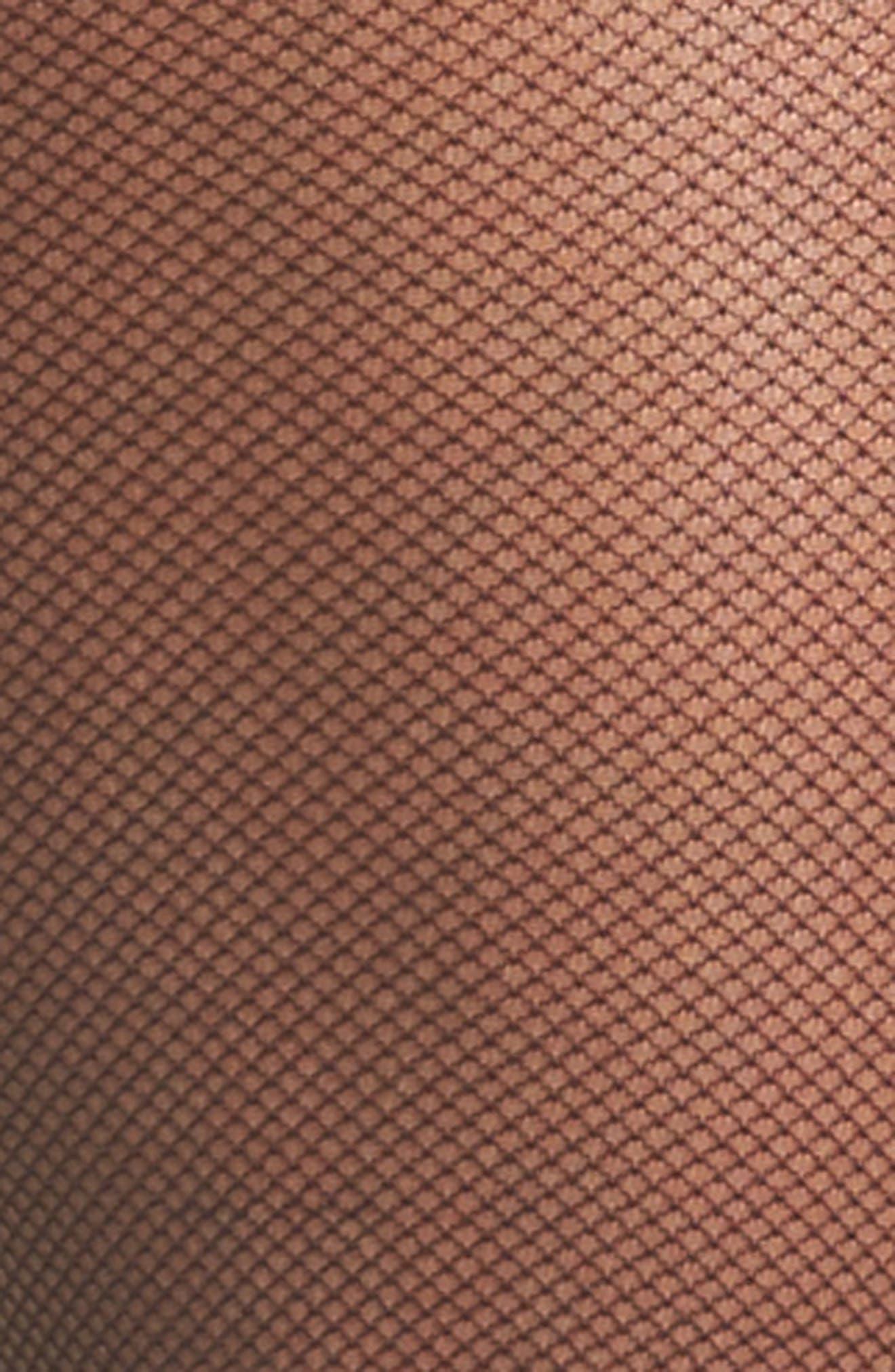 Perfect Nudes Micro Net Pantyhose,                             Alternate thumbnail 3, color,                             001