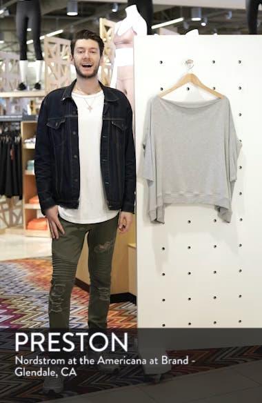 'Cozy' Convertible Fleece Pullover, sales video thumbnail