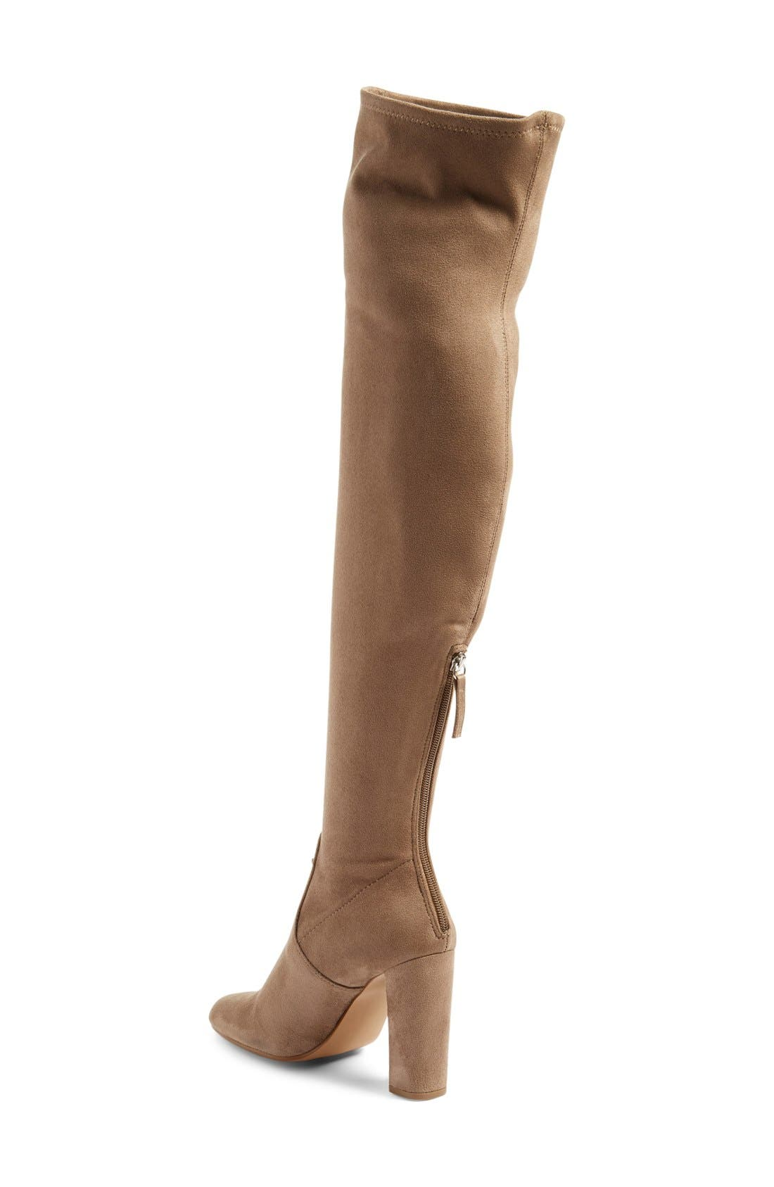 'Emotions' Stretch Over the Knee Boot,                             Alternate thumbnail 5, color,