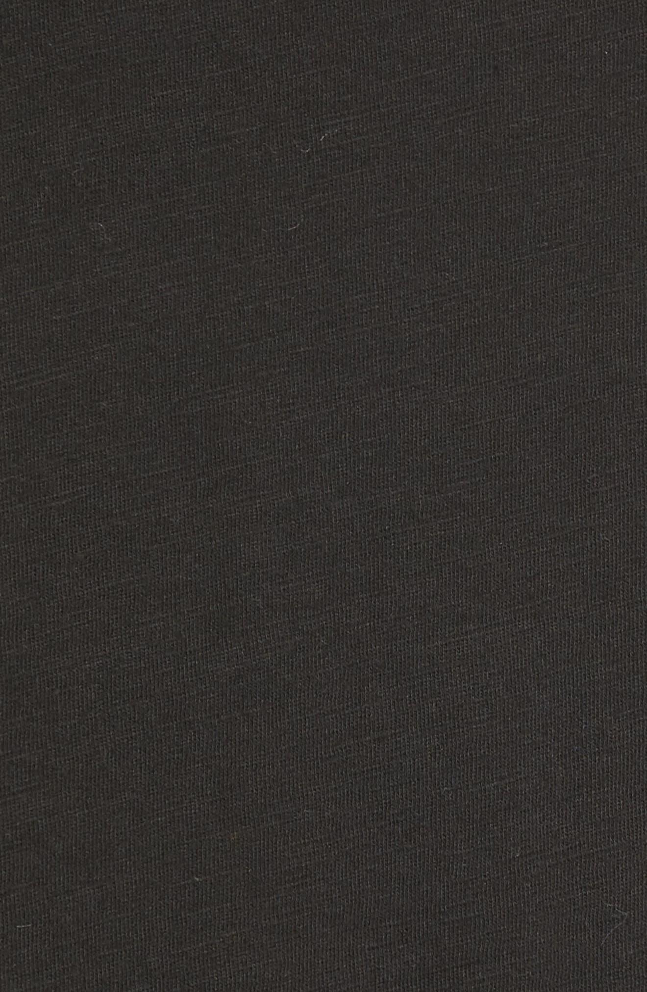 Bateau Neck Top,                             Alternate thumbnail 5, color,                             001
