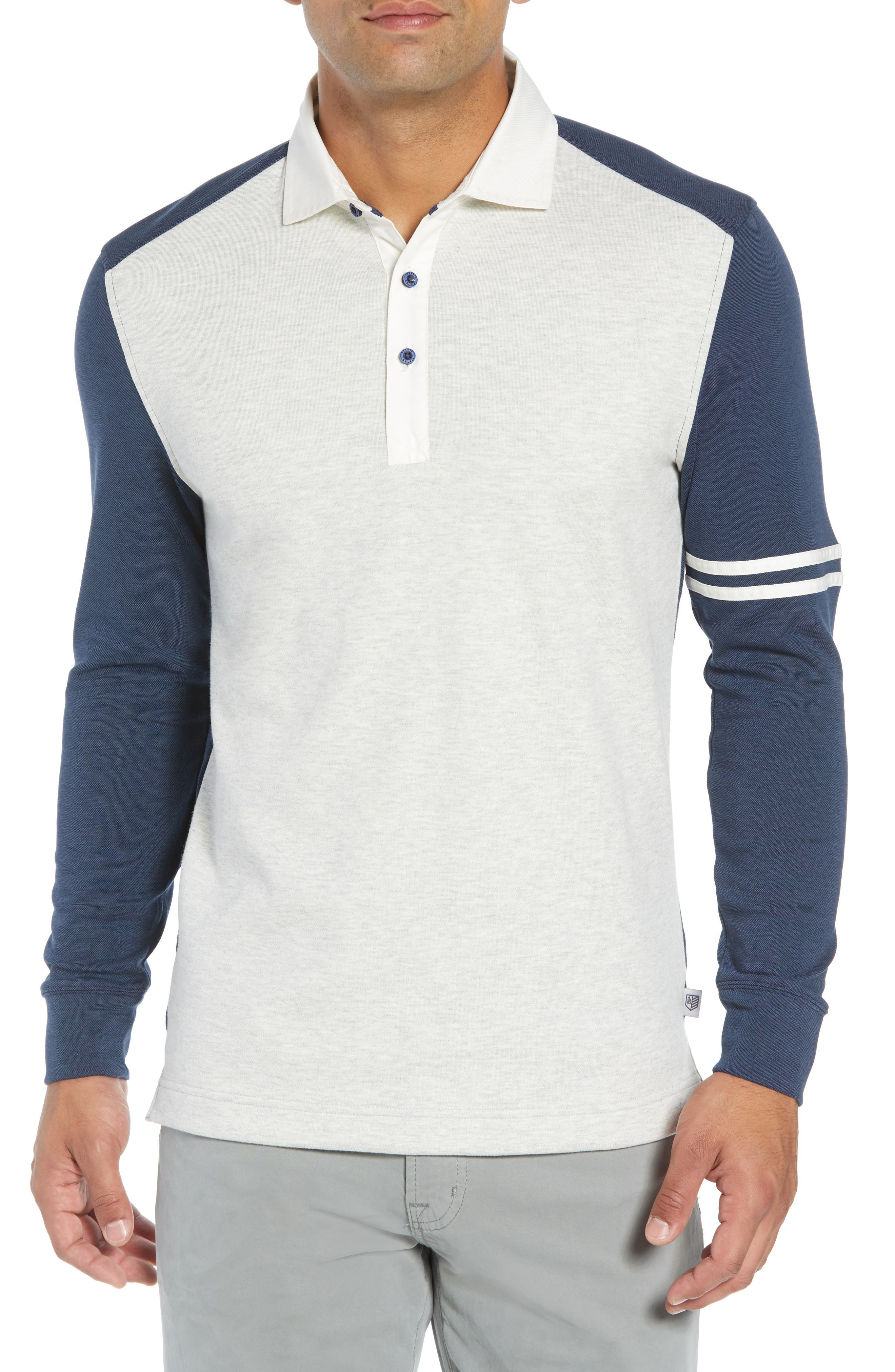 Rule 18 Rugby Rule Regular Fit Shirt,                         Main,                         color, GREY