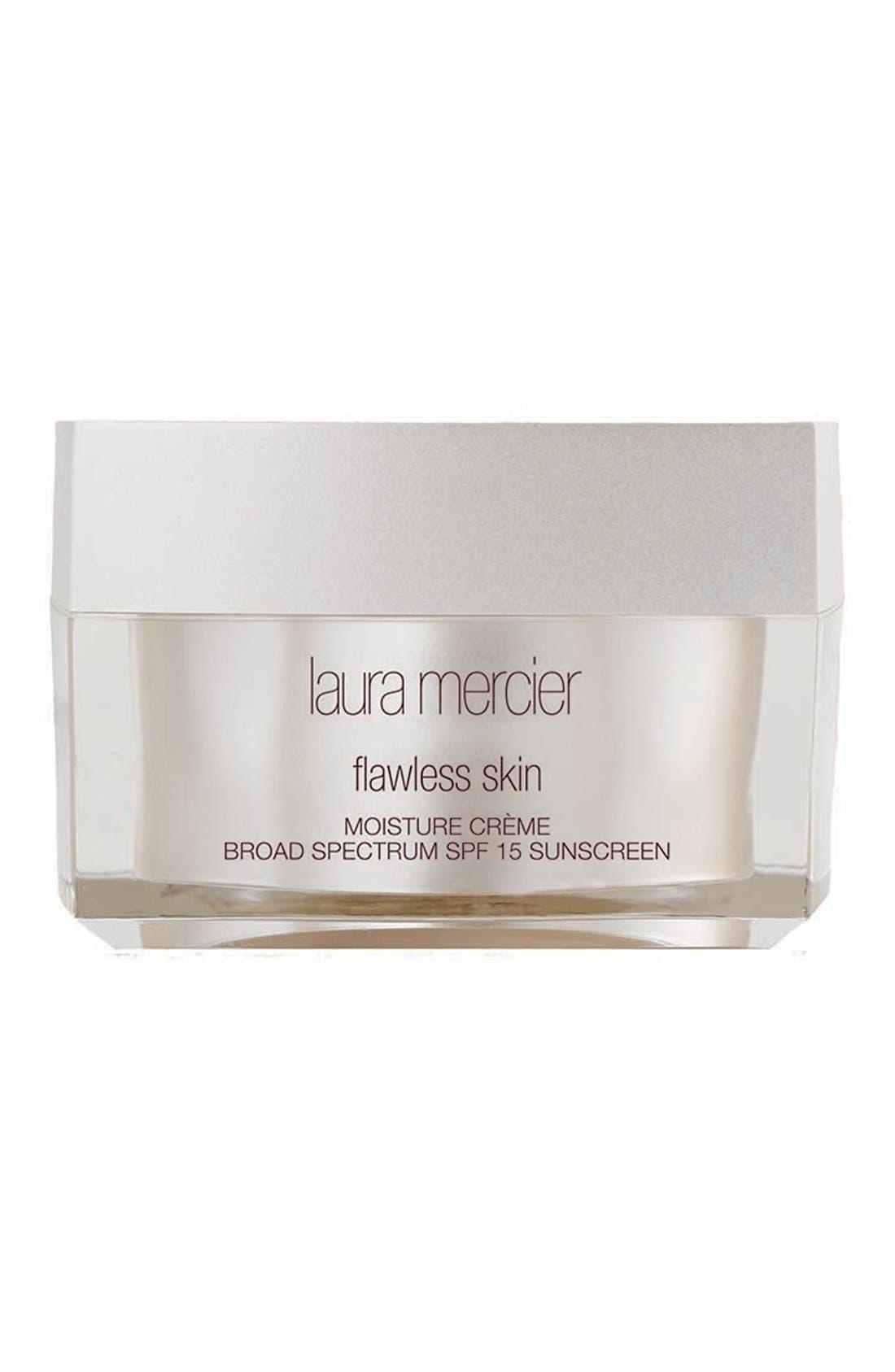 LAURA MERCIER,                             'Flawless Skin' Moisture Crème Broad Spectrum SPF 15,                             Main thumbnail 1, color,                             000