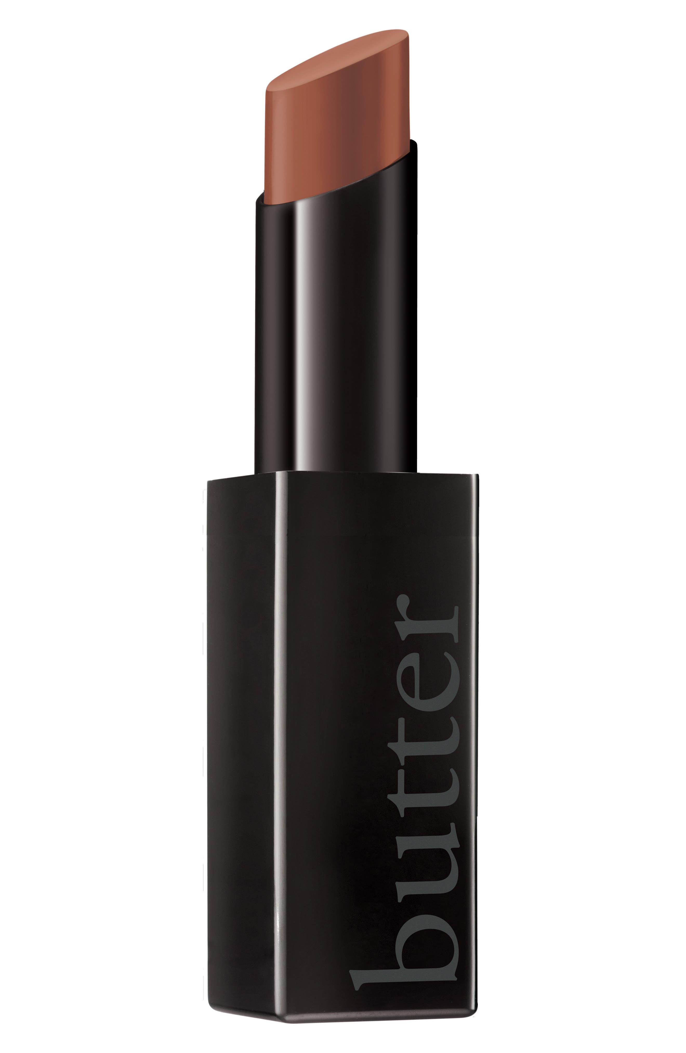 Plush Rush Satin Matte Lipstick,                             Main thumbnail 1, color,                             BRAVE