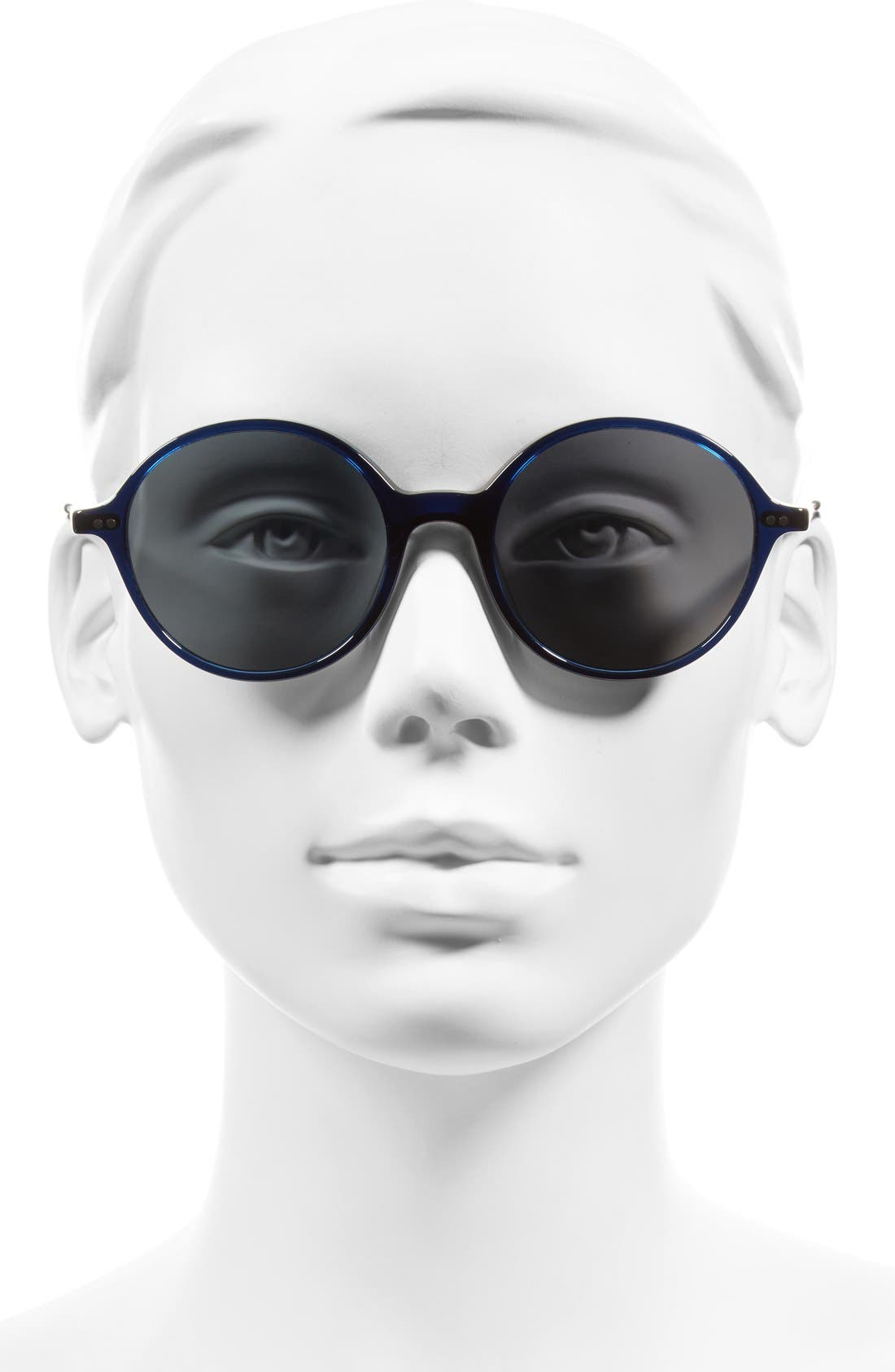 Corby 51mm Round Sunglasses,                             Alternate thumbnail 8, color,