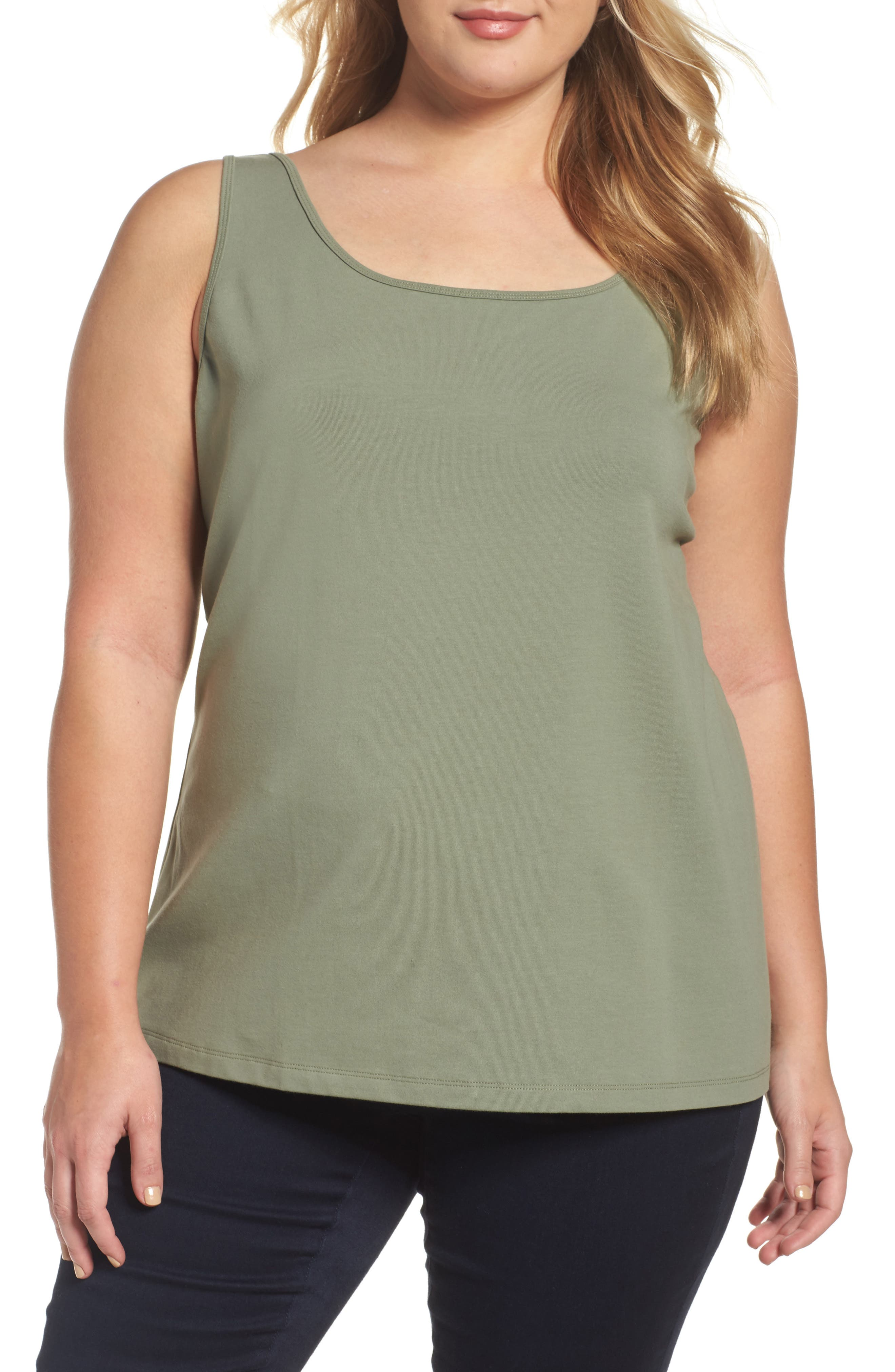 Perfect Scoop Neck Tank,                         Main,                         color, 250