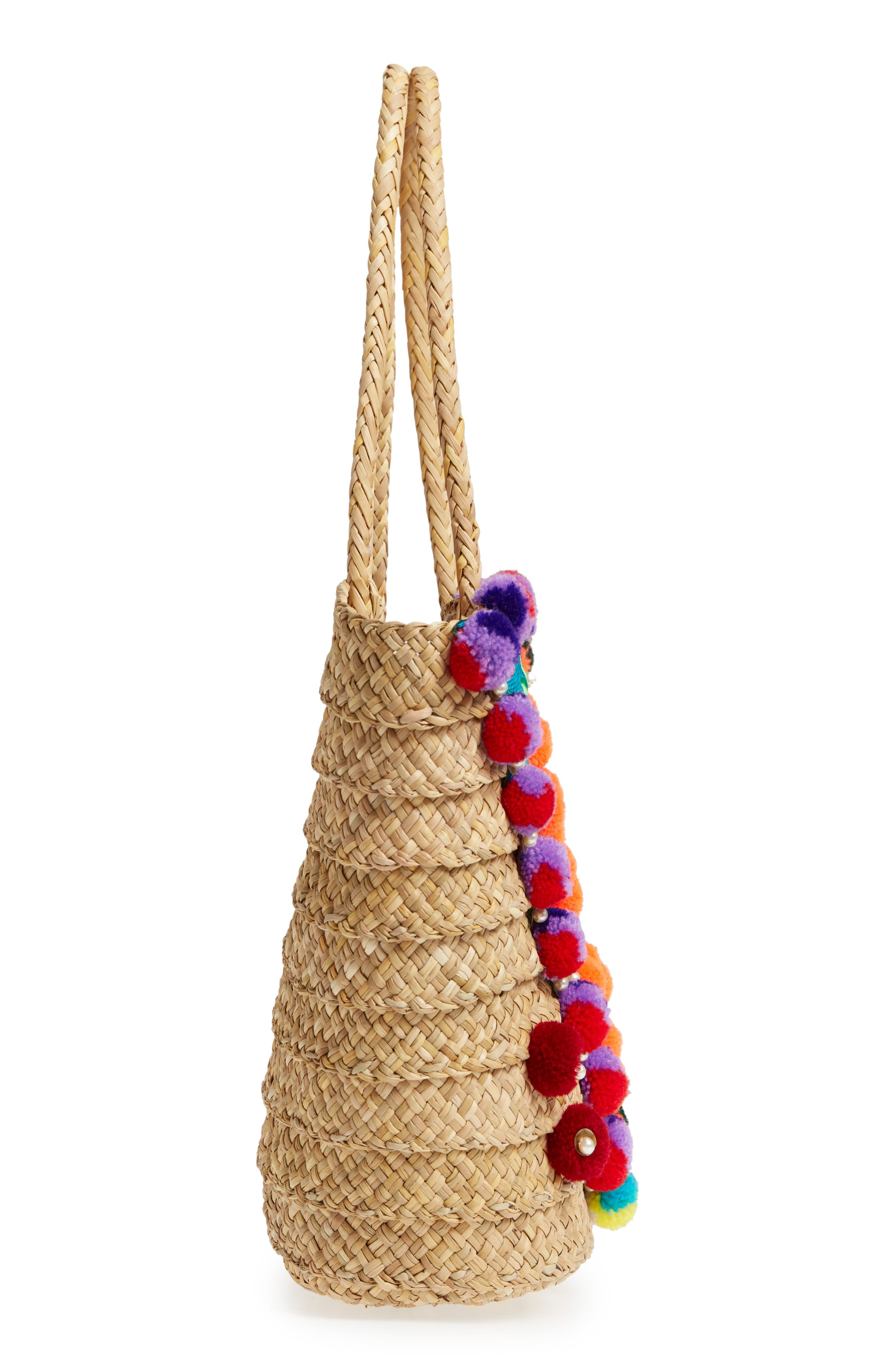 PITUSA,                             Dreamy Beach Bag,                             Alternate thumbnail 5, color,                             250