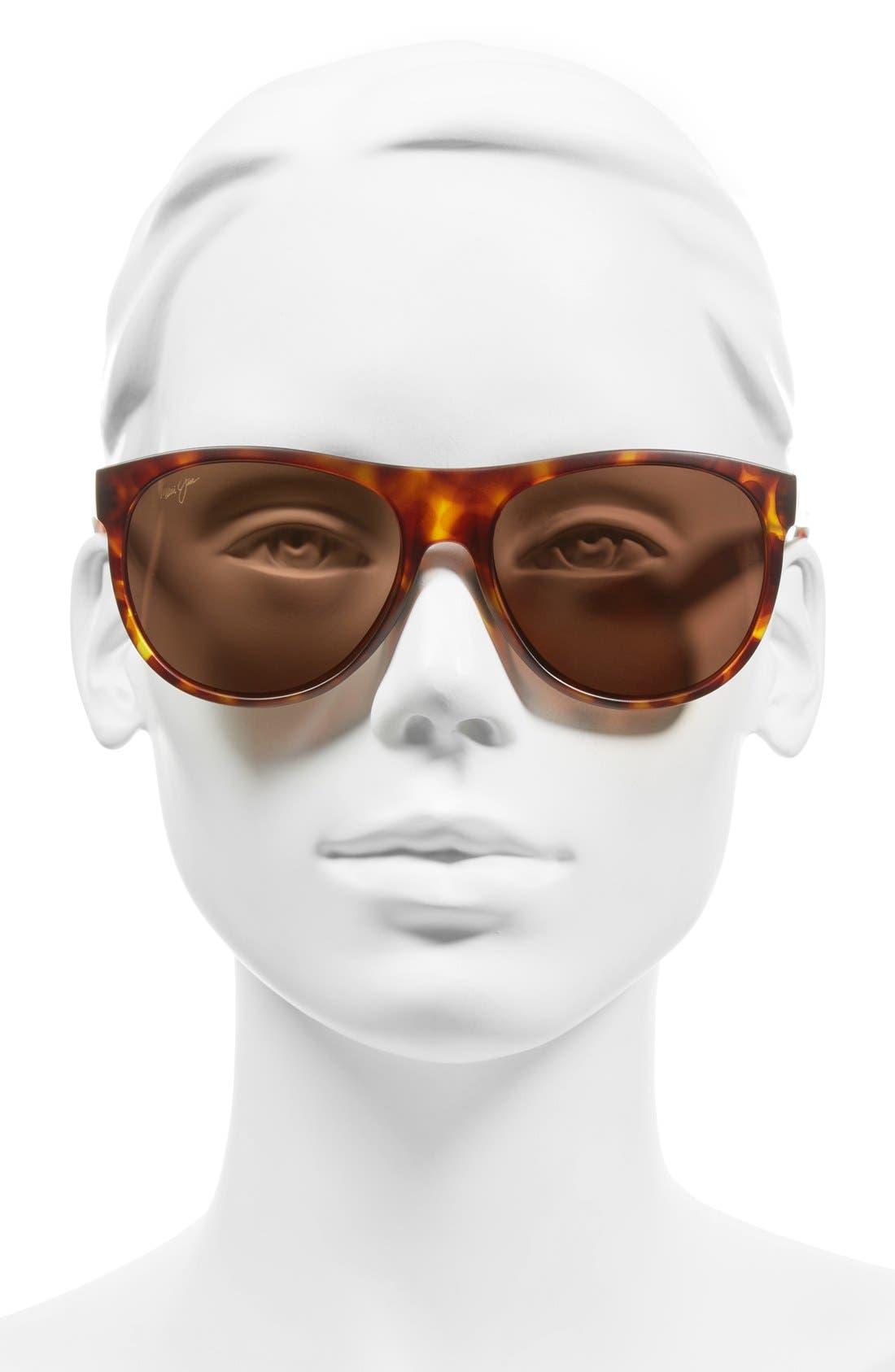 Rising Sun 57mm PolarizedPlus2<sup>®</sup> Sunglasses,                             Alternate thumbnail 5, color,