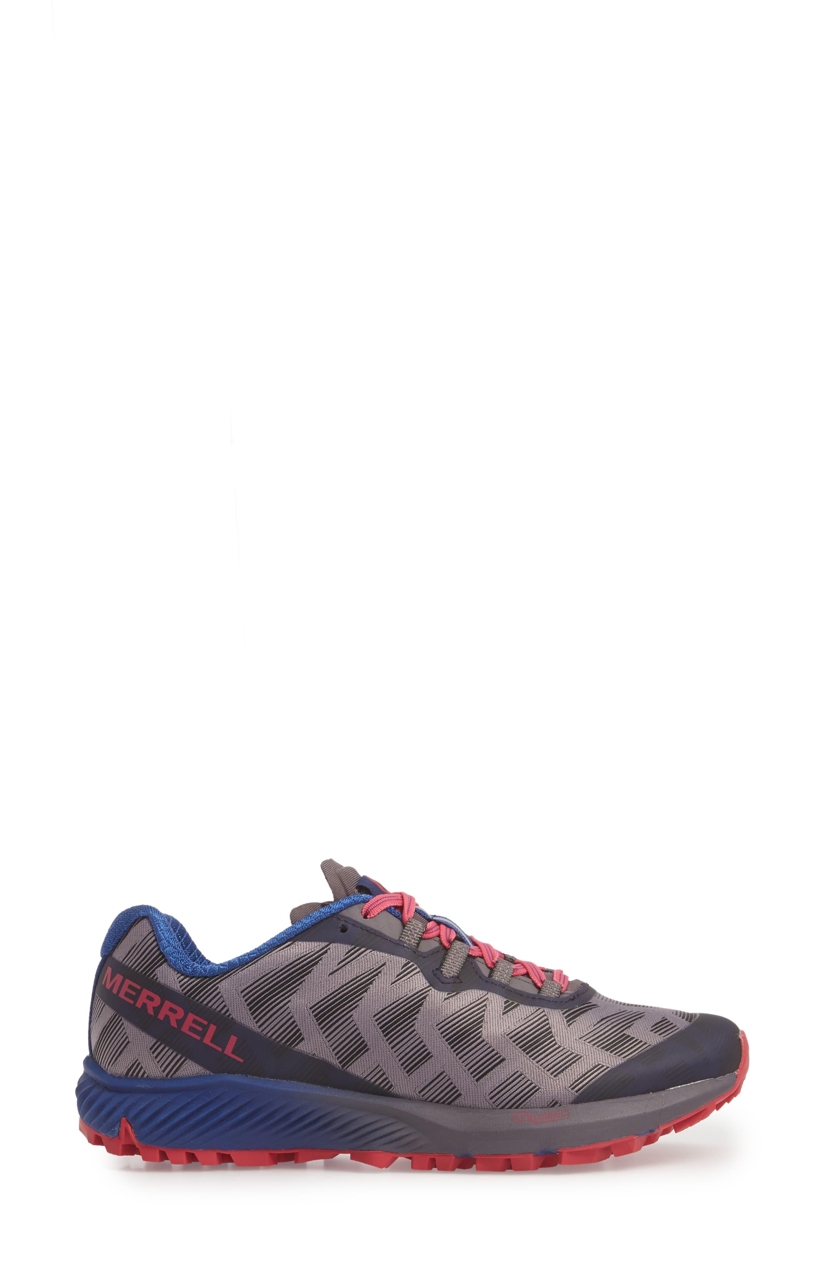 Agility Synthesis Flex Sneaker,                             Alternate thumbnail 3, color,                             SHARK FABRIC