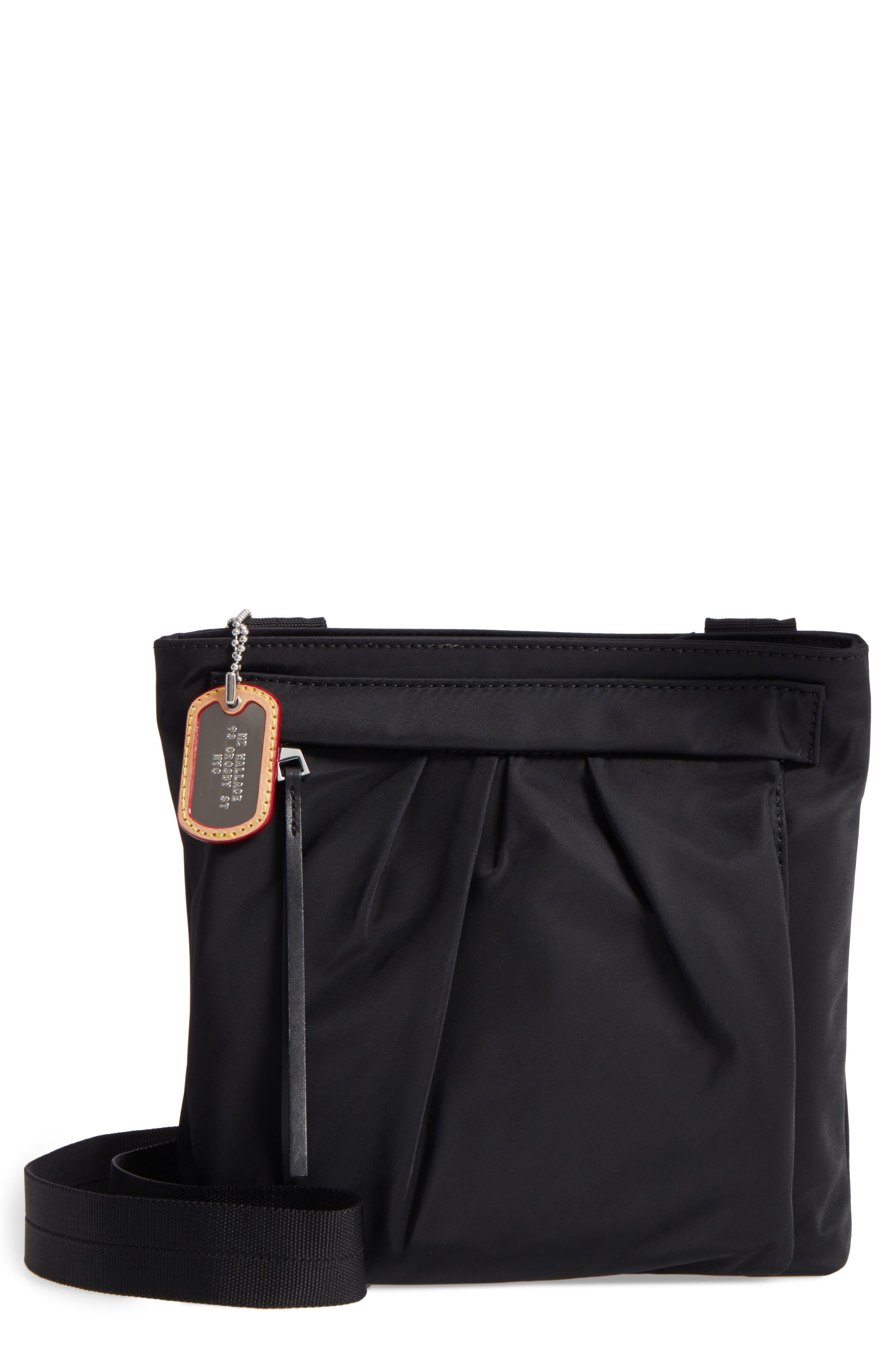 Jordan Bedford Nylon Crossbody Bag,                             Main thumbnail 1, color,                             008