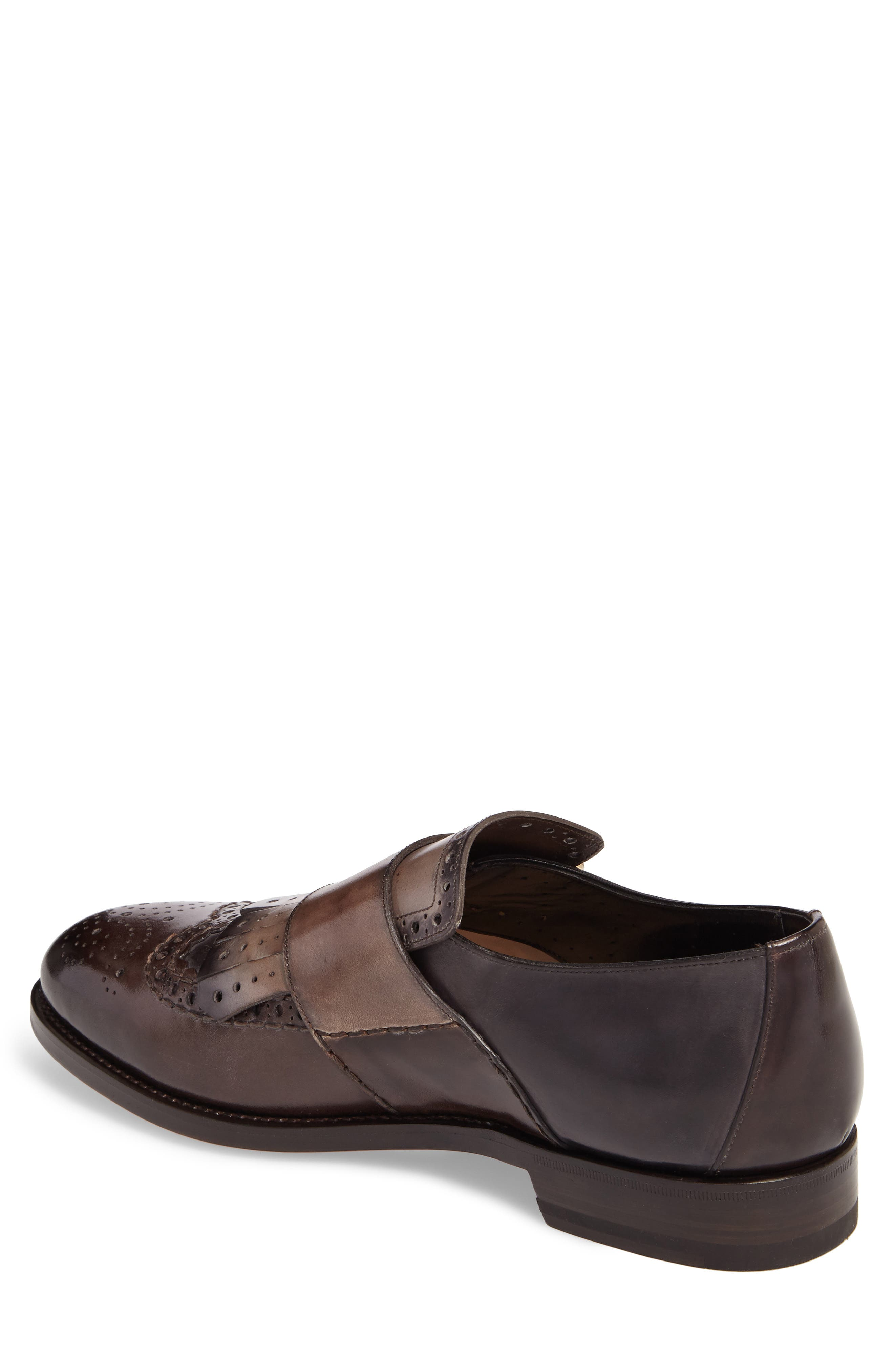Goodwin Double Monk Strap Shoe,                             Alternate thumbnail 2, color,                             030