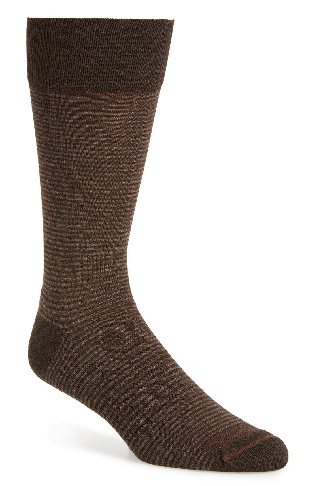 Feeder Stripe Socks,                             Main thumbnail 6, color,