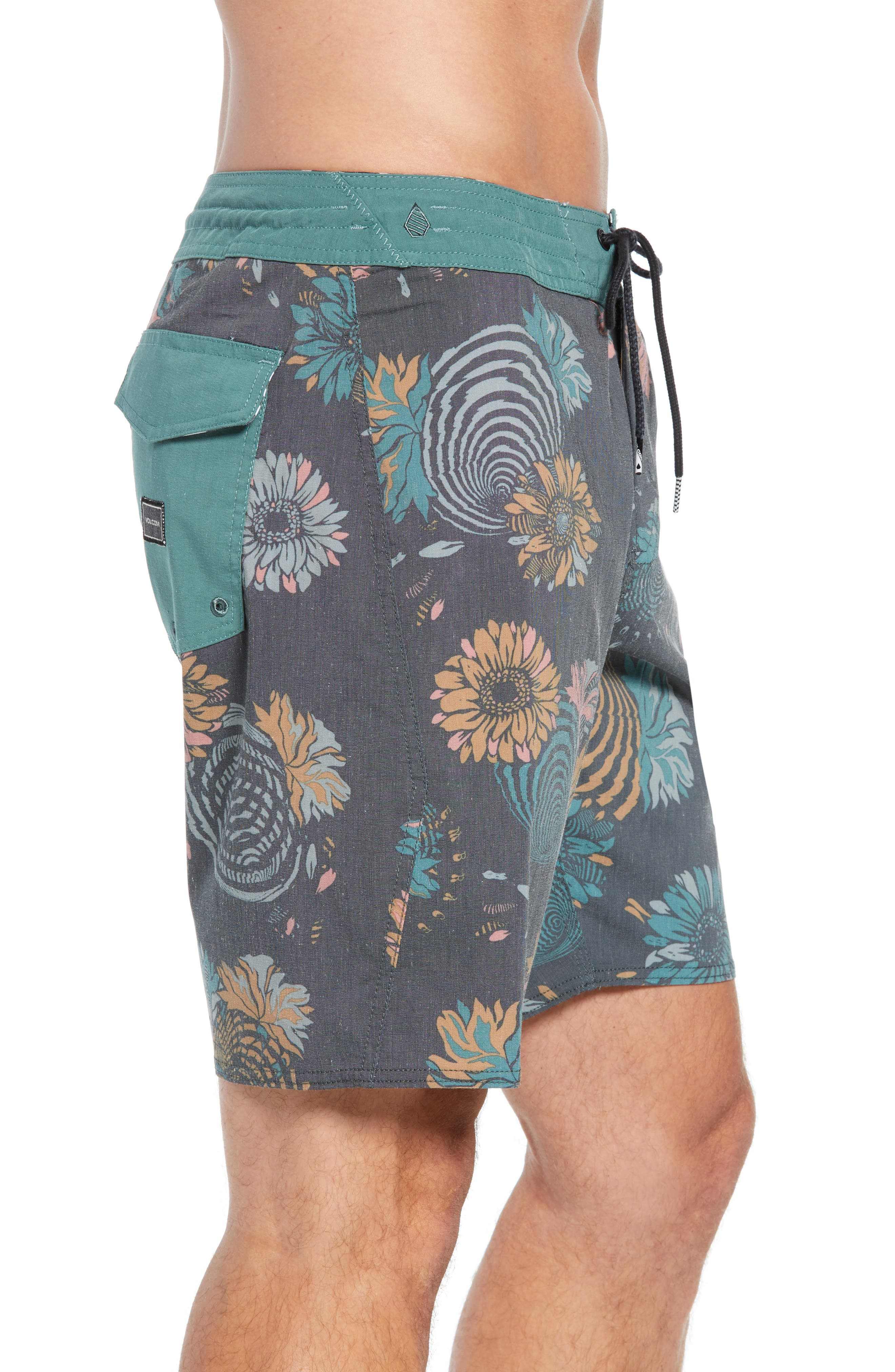Delusion Stoney Board Shorts,                             Alternate thumbnail 3, color,                             366