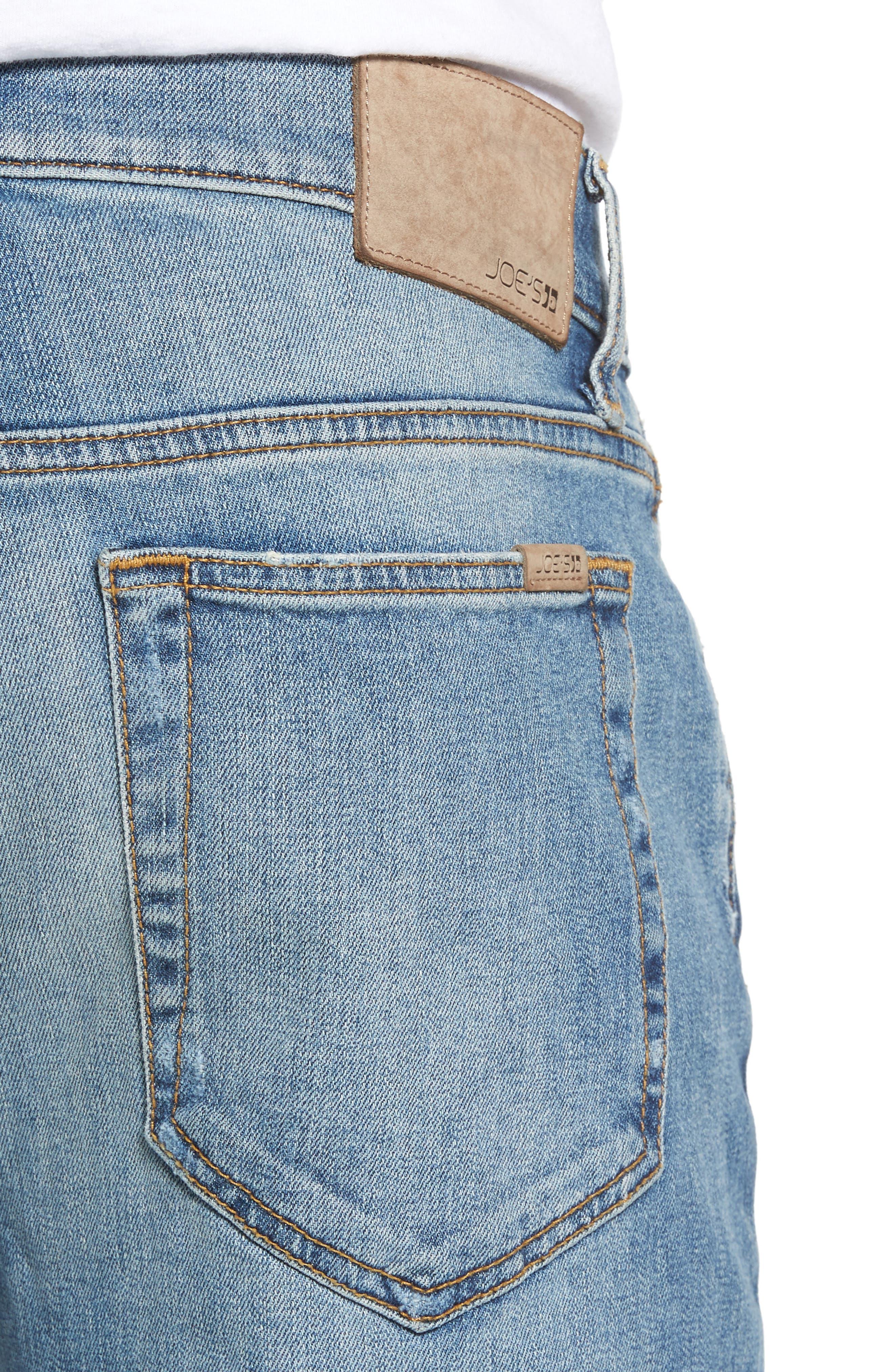 Brixton Slim Straight Fit Jeans,                             Alternate thumbnail 4, color,                             475